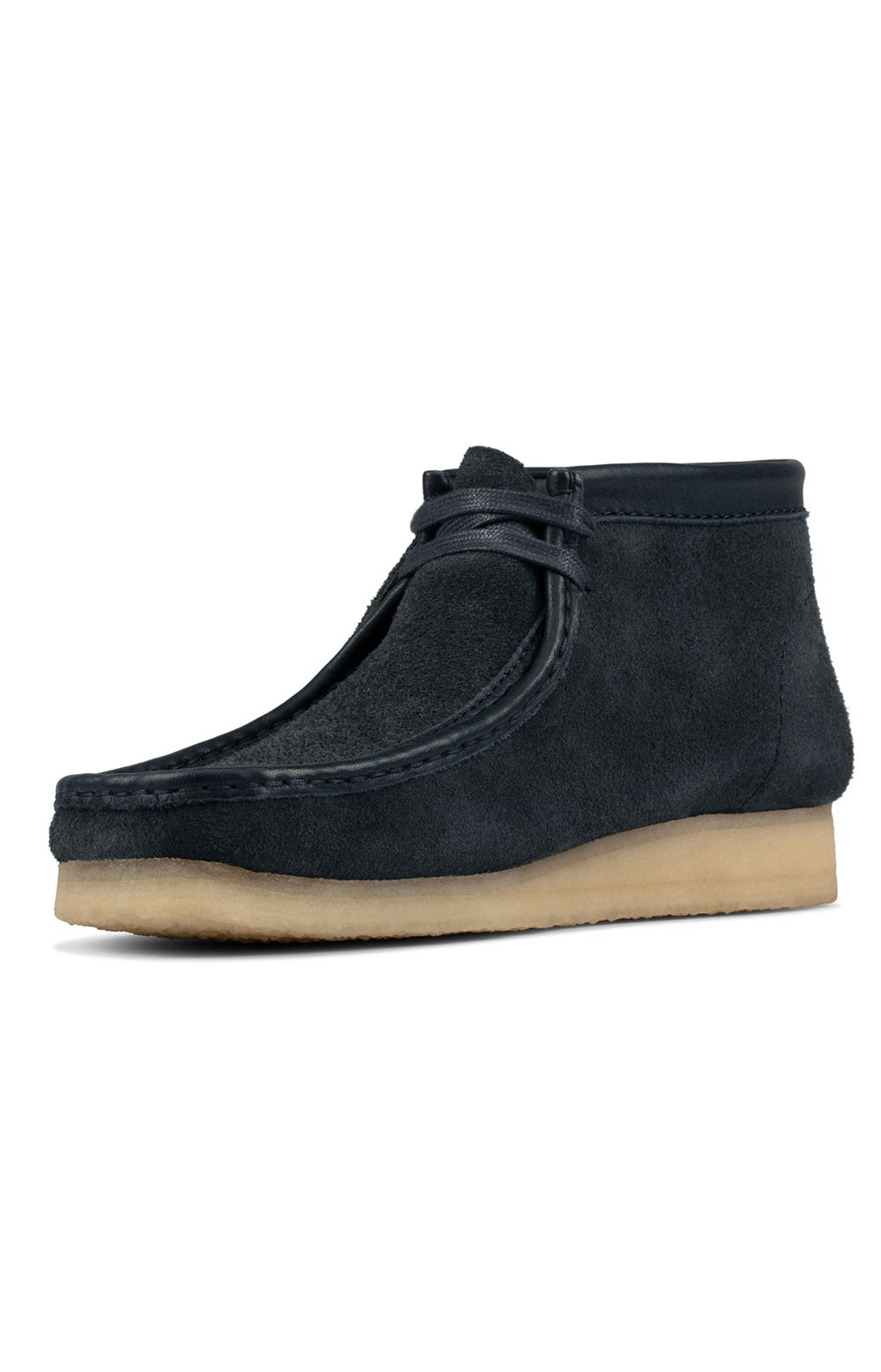(26155048) Wallabee Boots - Navy Hairy Suede  4