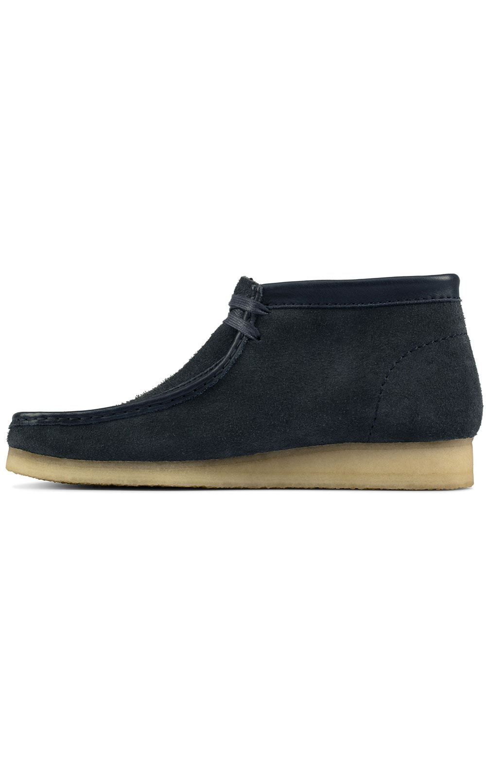 (26155048) Wallabee Boots - Navy Hairy Suede  5