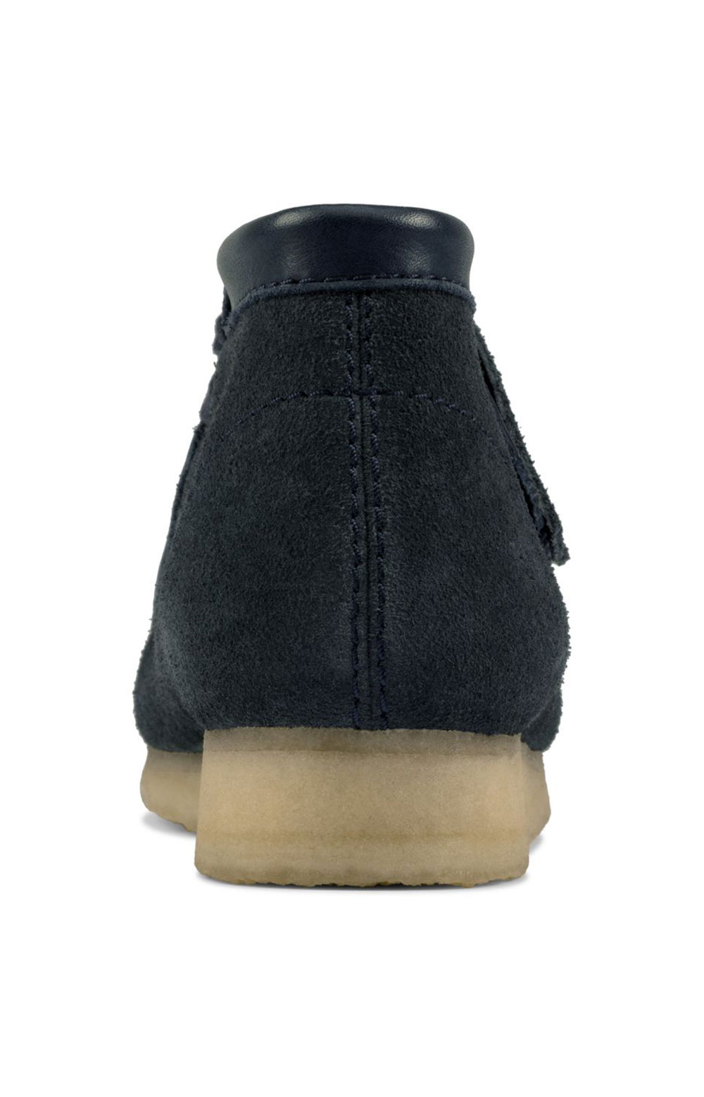 (26155048) Wallabee Boots - Navy Hairy Suede  6