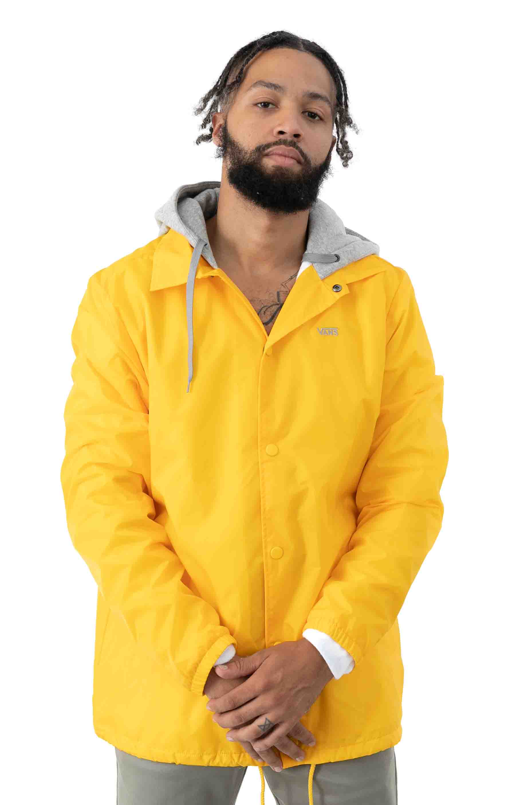 Riley Jacket - Lemon Chrome