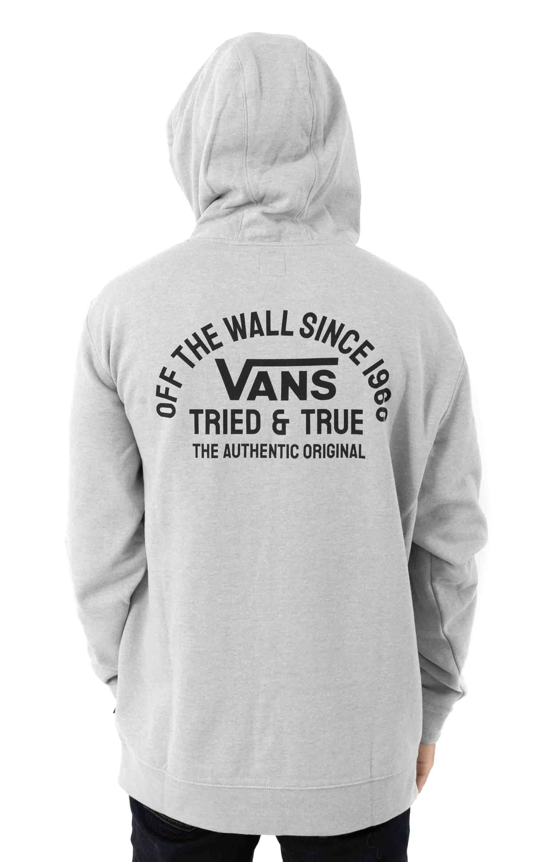 Authentic OG Pullover Hoodie - Cement Heather  3