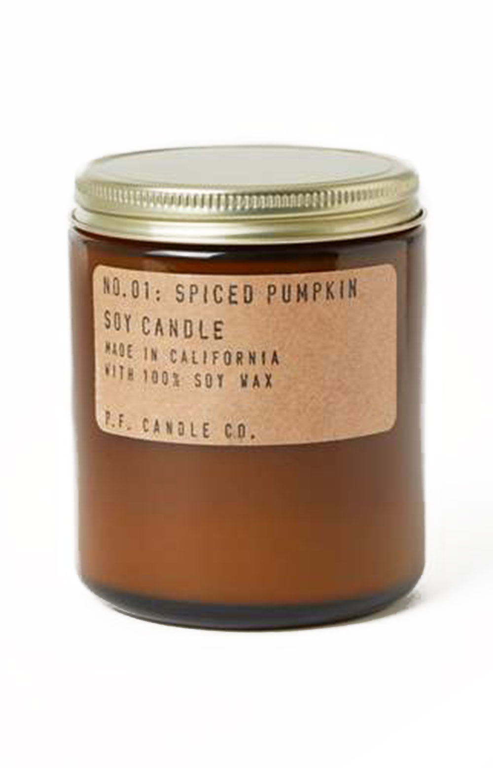 Spiced Pumpkin Soy Candle - 7.2 Oz