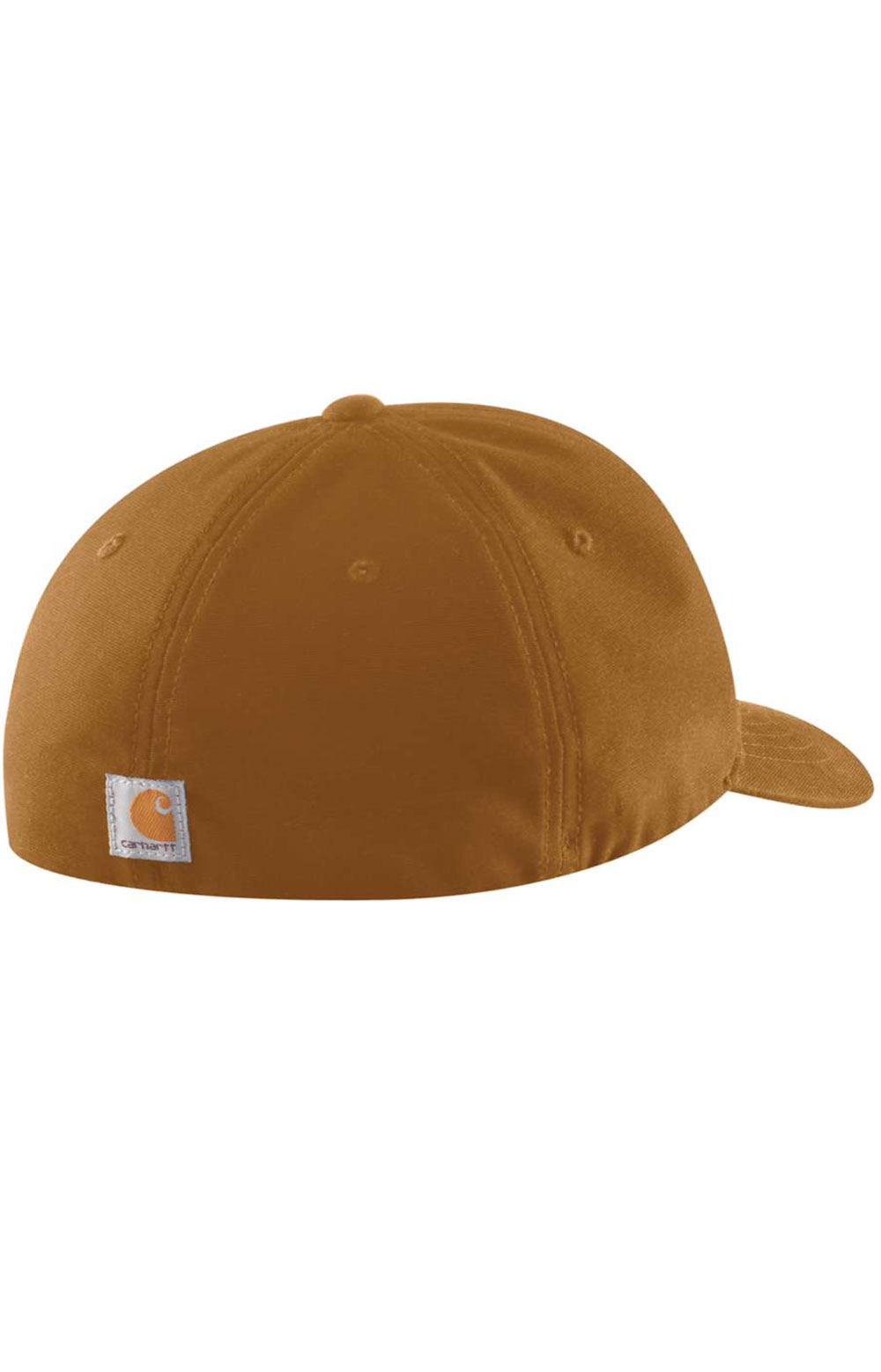 (104298) Rugged Flex Canvas Full-Back Fitted Logo Graphic Cap - Carhartt Brown 2