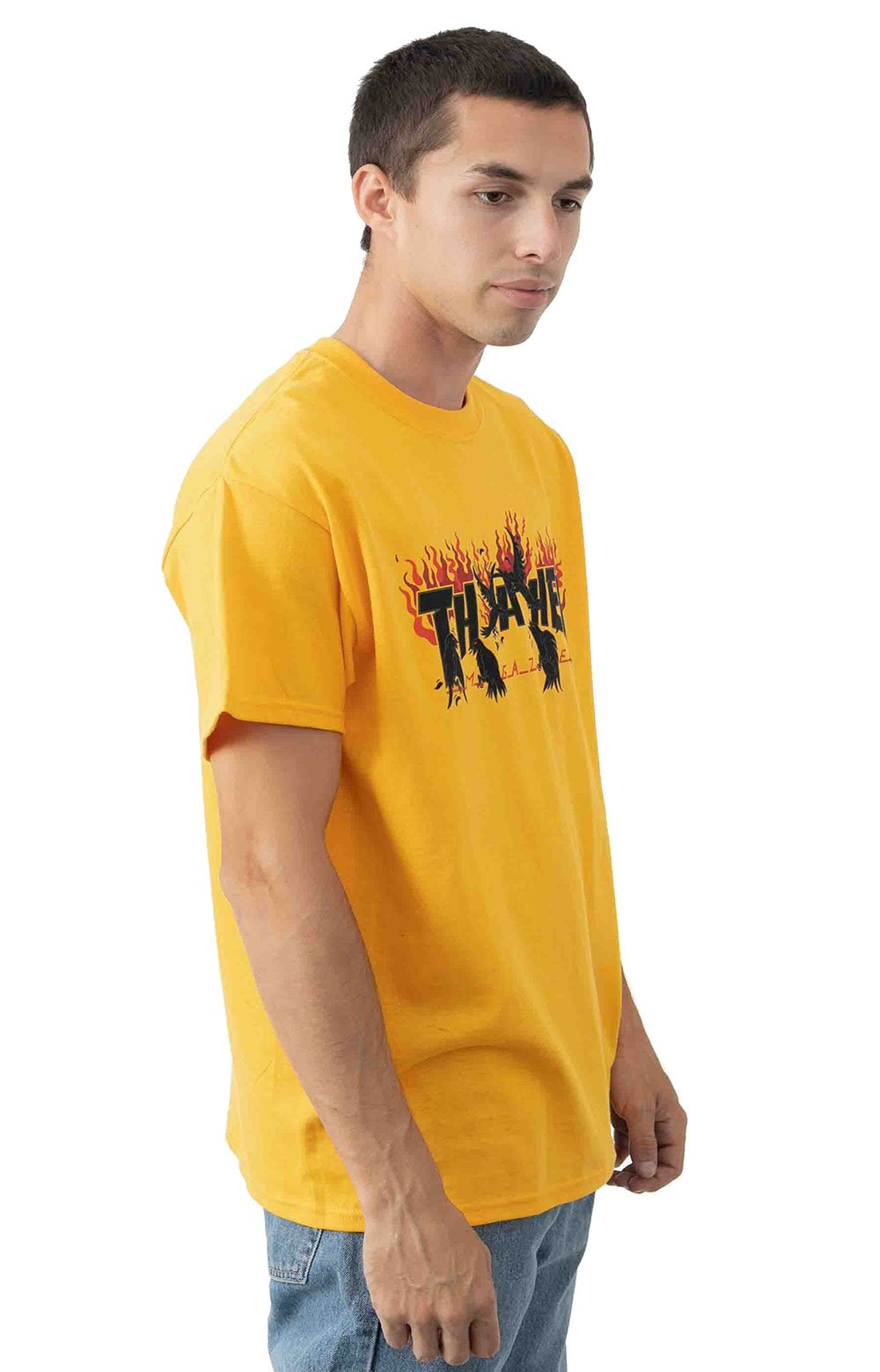 Crows T-Shirt - Gold  2