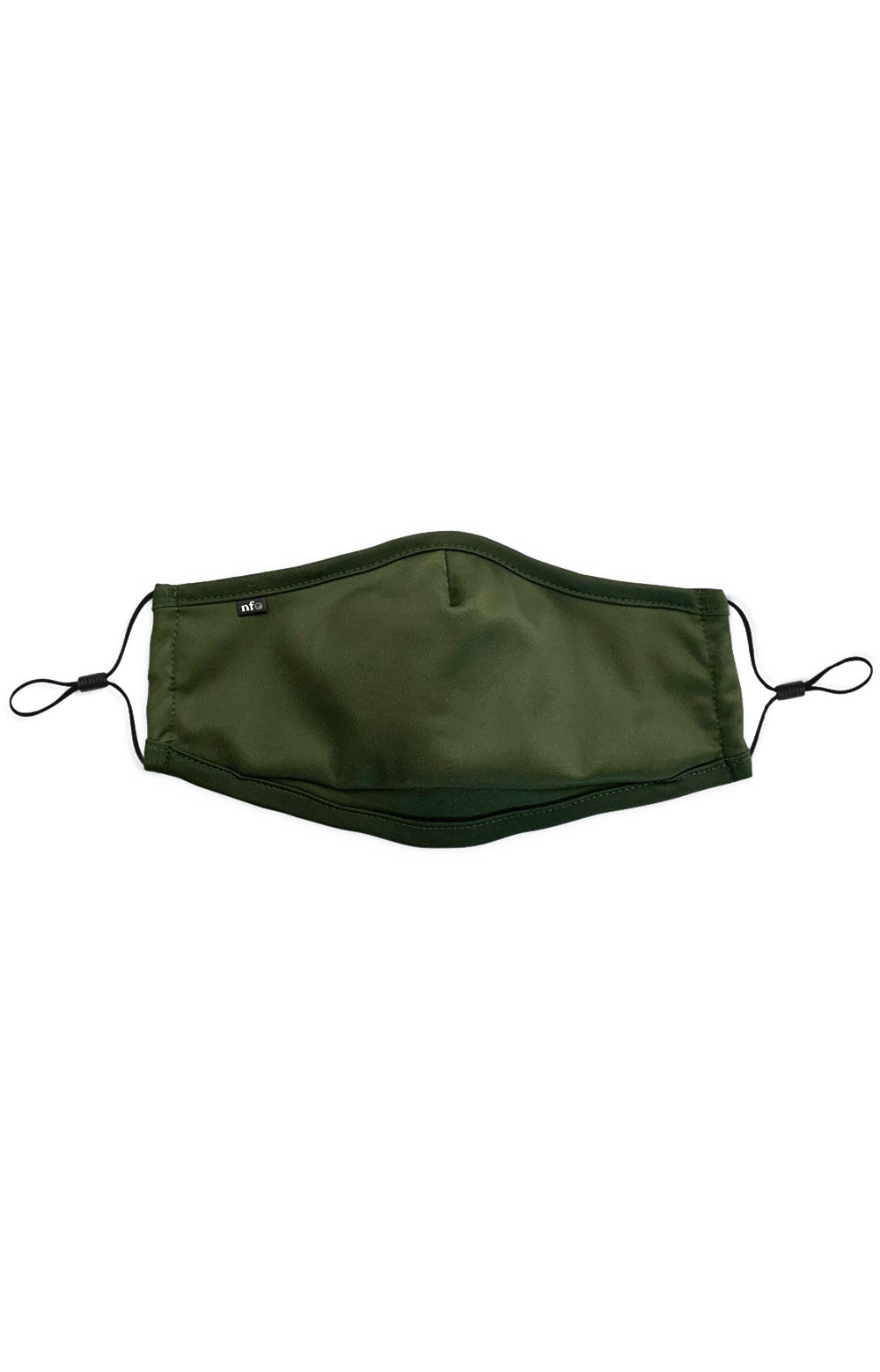 Adult Anti Bacterial Knit Face Mask - Olive
