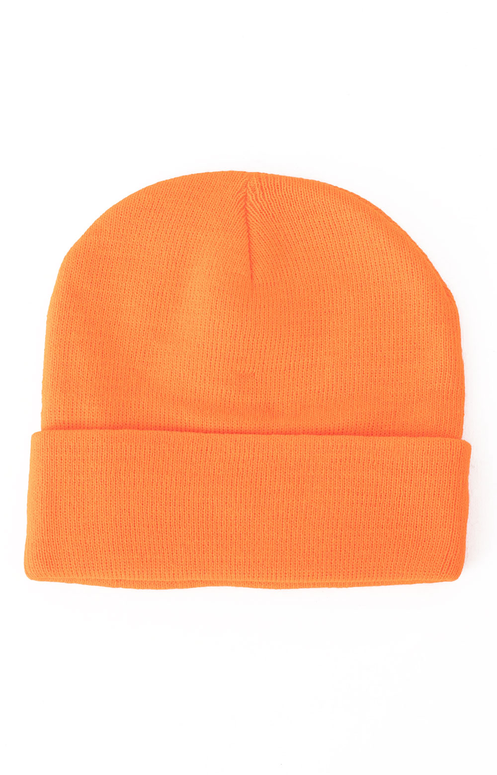 (5783) Rothco Deluxe Fine Knit Watch Cap - Safety Orange