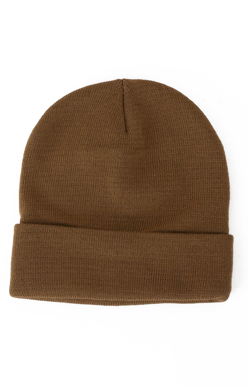 (5786) Rothco Deluxe Fine Knit Watch Cap - Coyote Brown