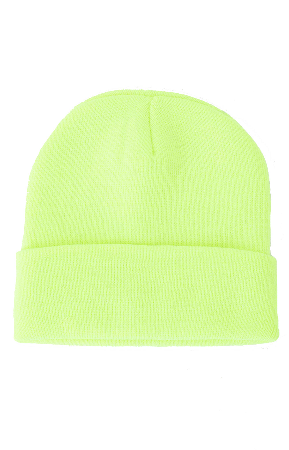 (5785) Rothco Deluxe Fine Knit Watch Cap - Safety Green