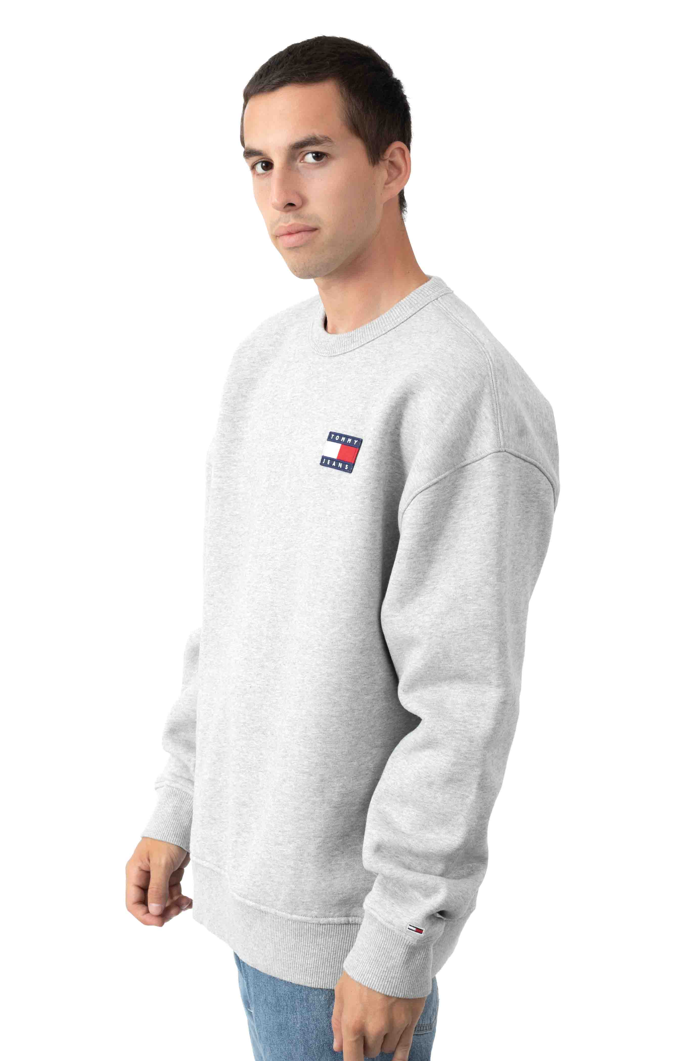 Jai Badge Sweatshirt - Metal Grey 2