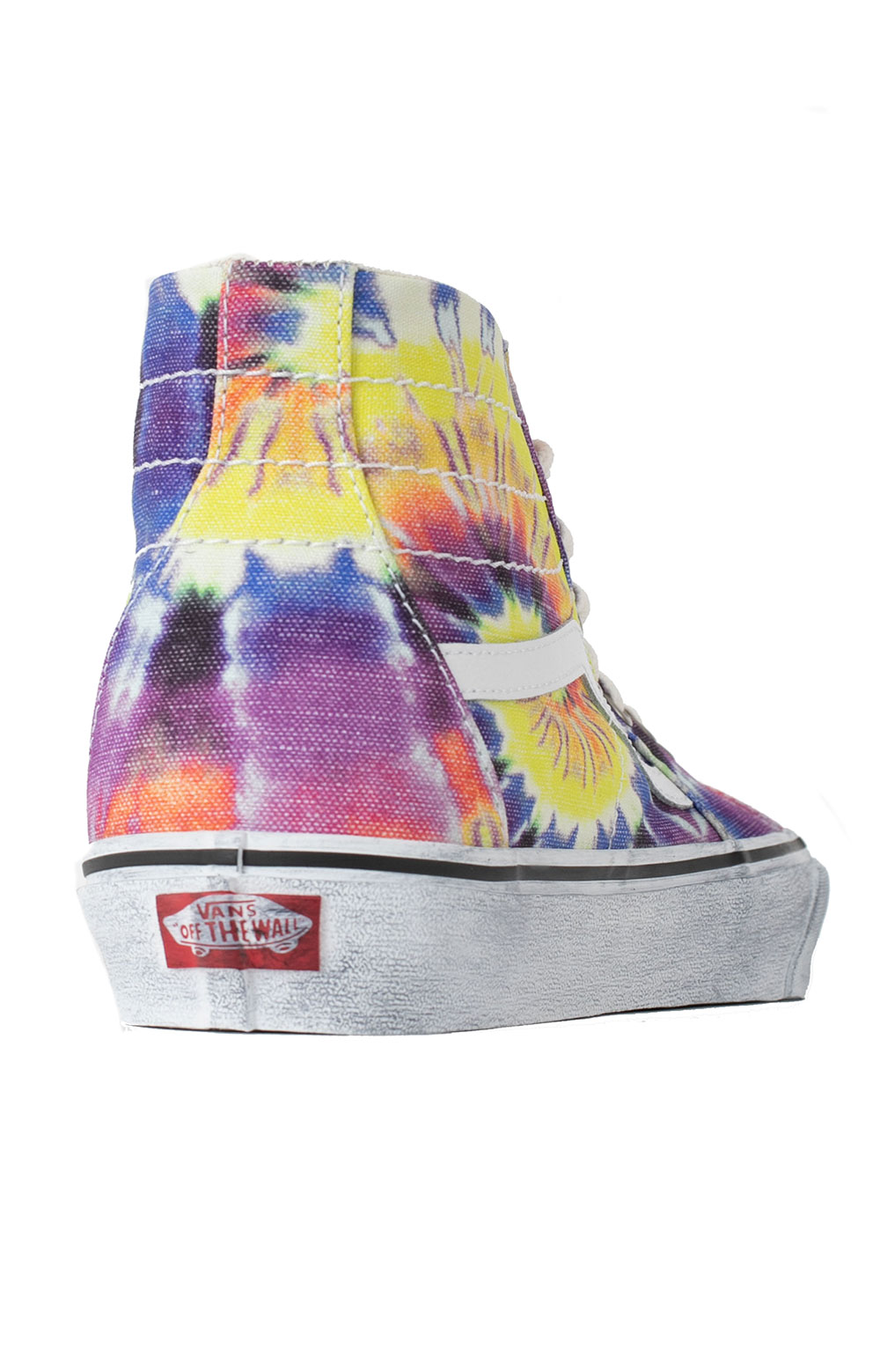 (U1619X) Washed Sk8-Hi Tapered Shoes - Tie-Dye/True White  6