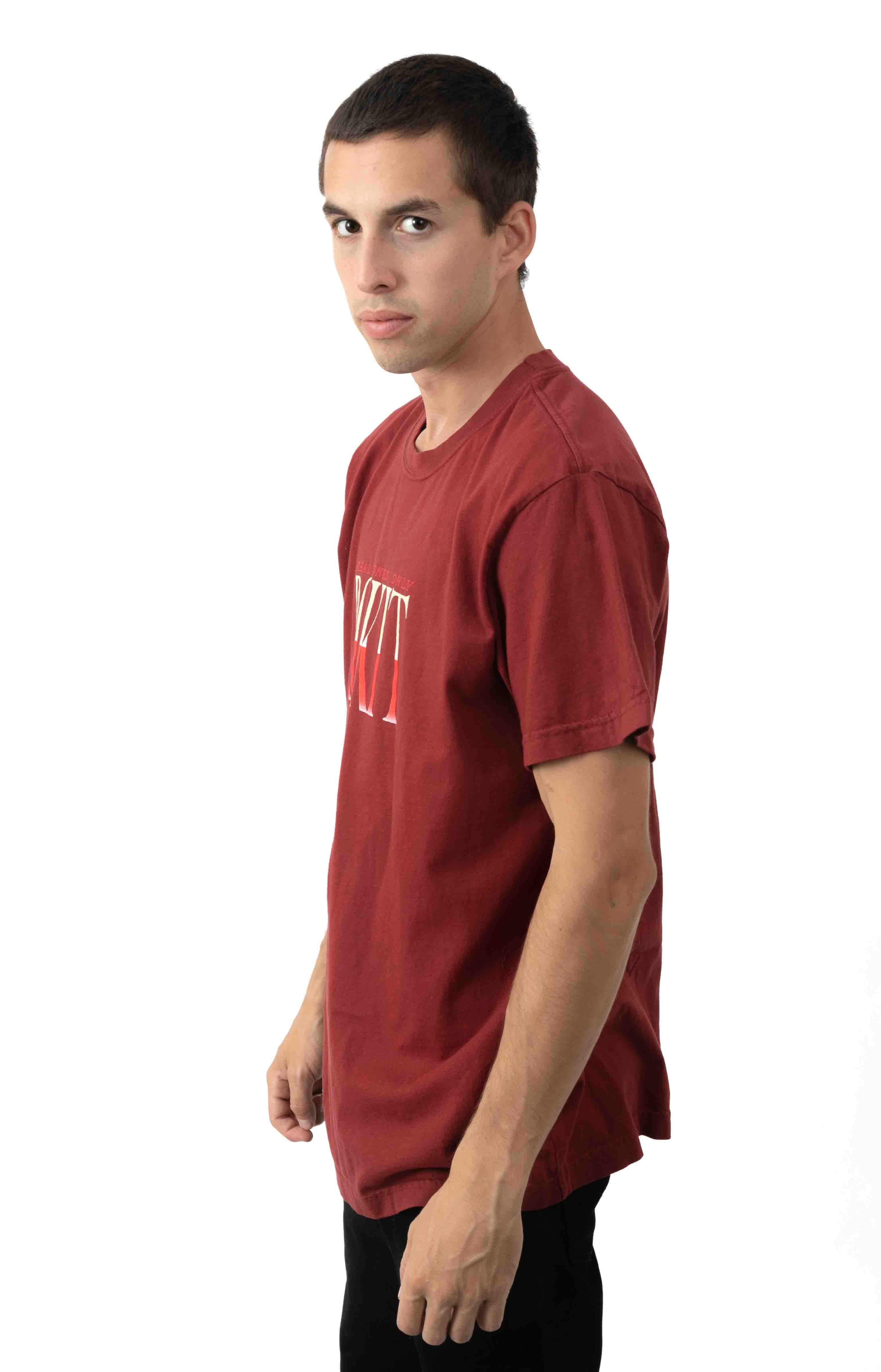 Certified T-Shirt - Burgundy  2