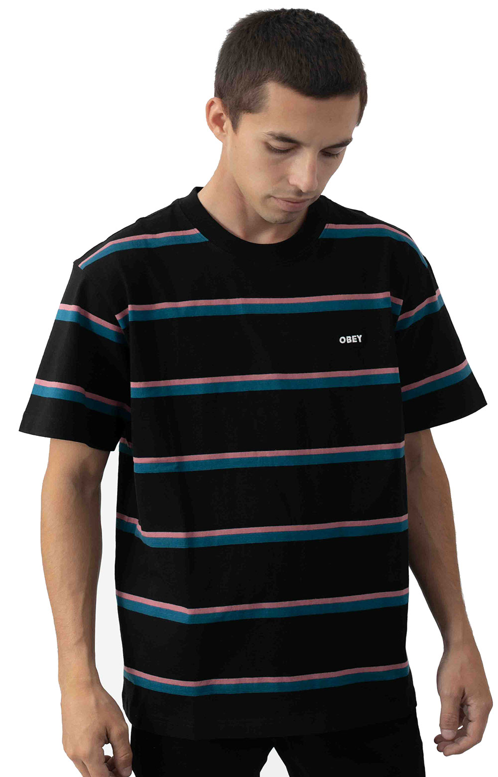 Ideals Organic Wide Stripe T-Shirt  2