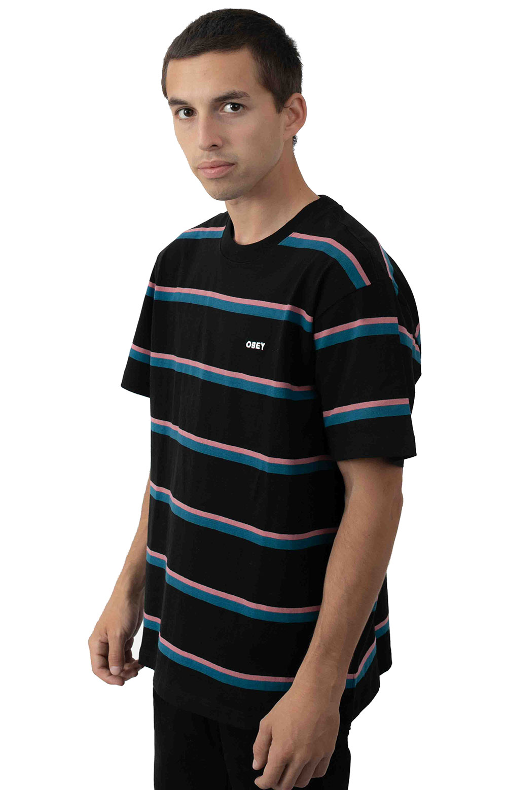 Ideals Organic Wide Stripe T-Shirt
