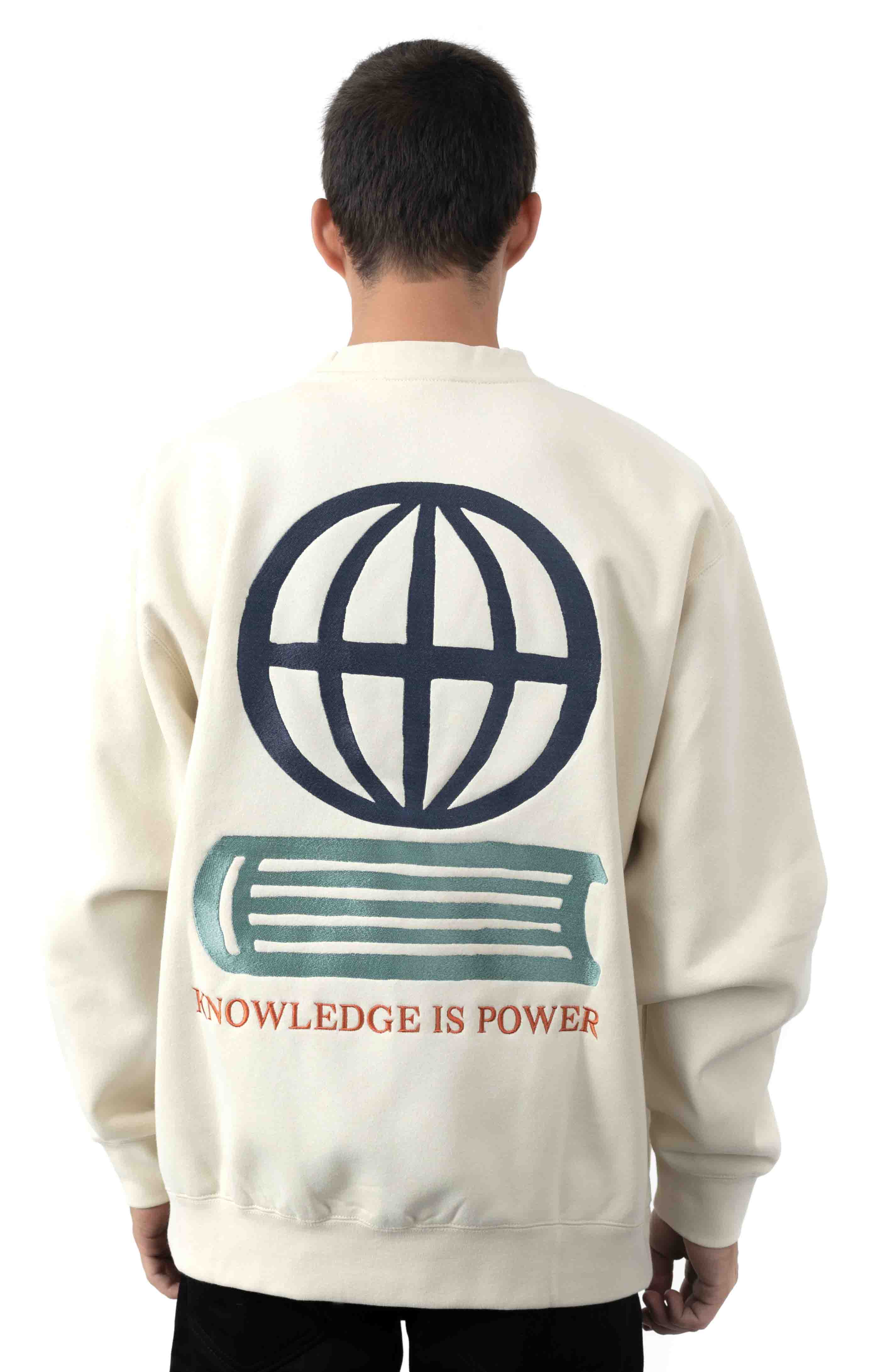 Knowledge Crewneck  3