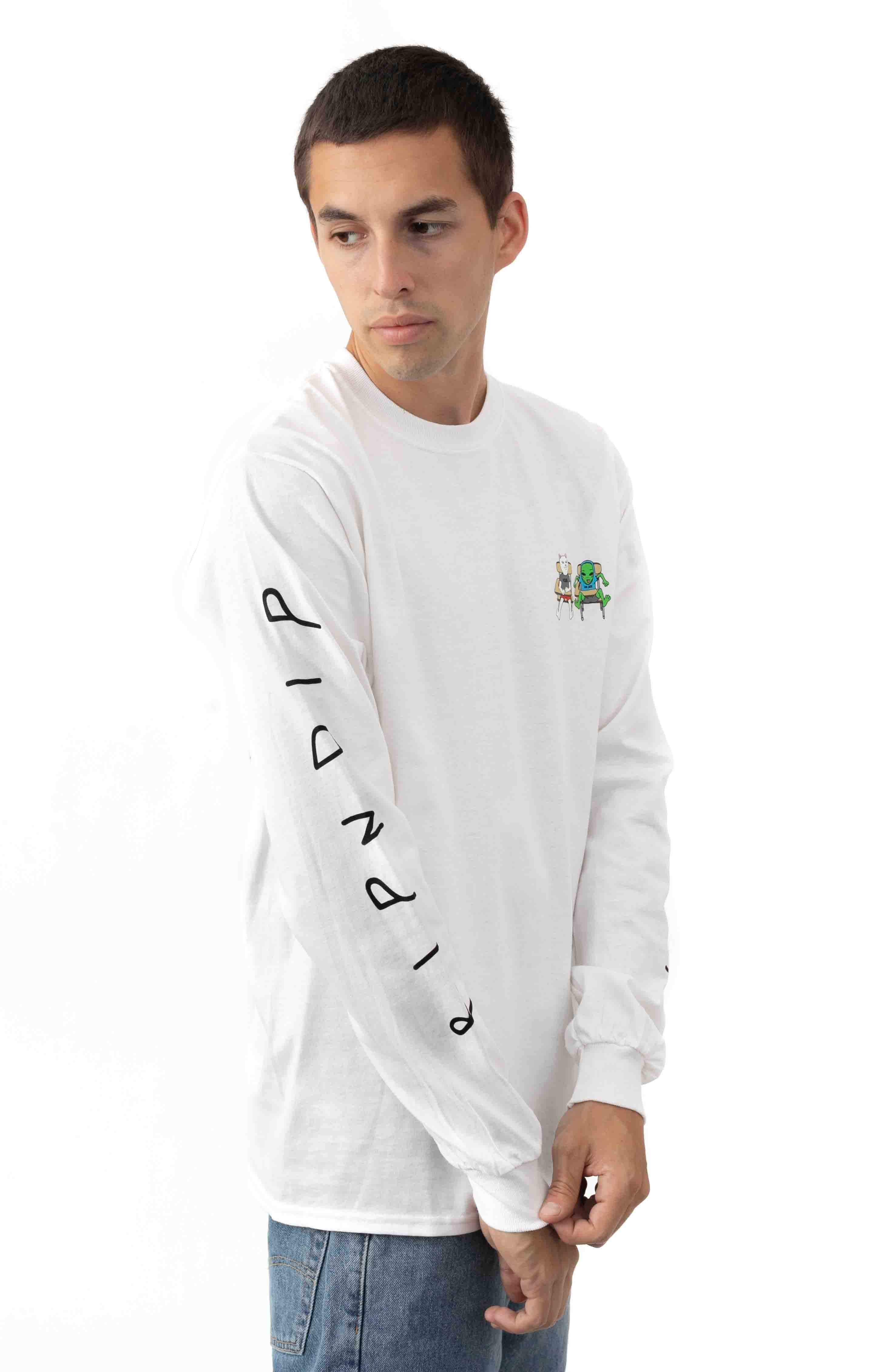 Butts Up L/S Shirt - White  3