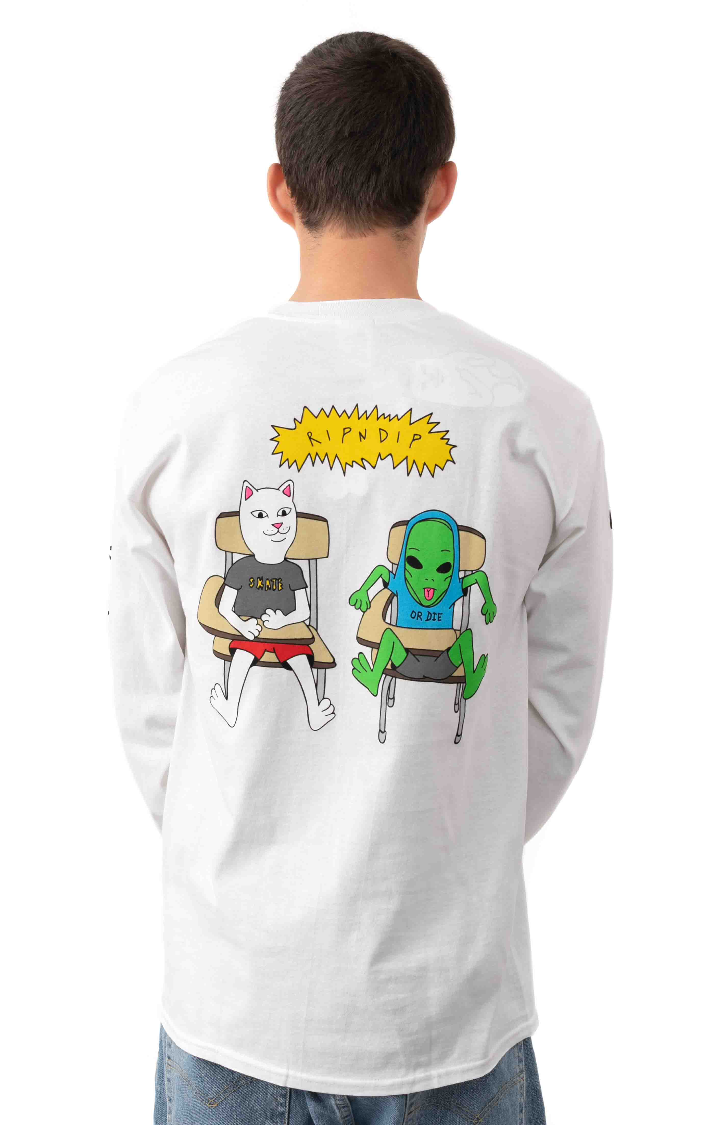 Butts Up L/S Shirt - White
