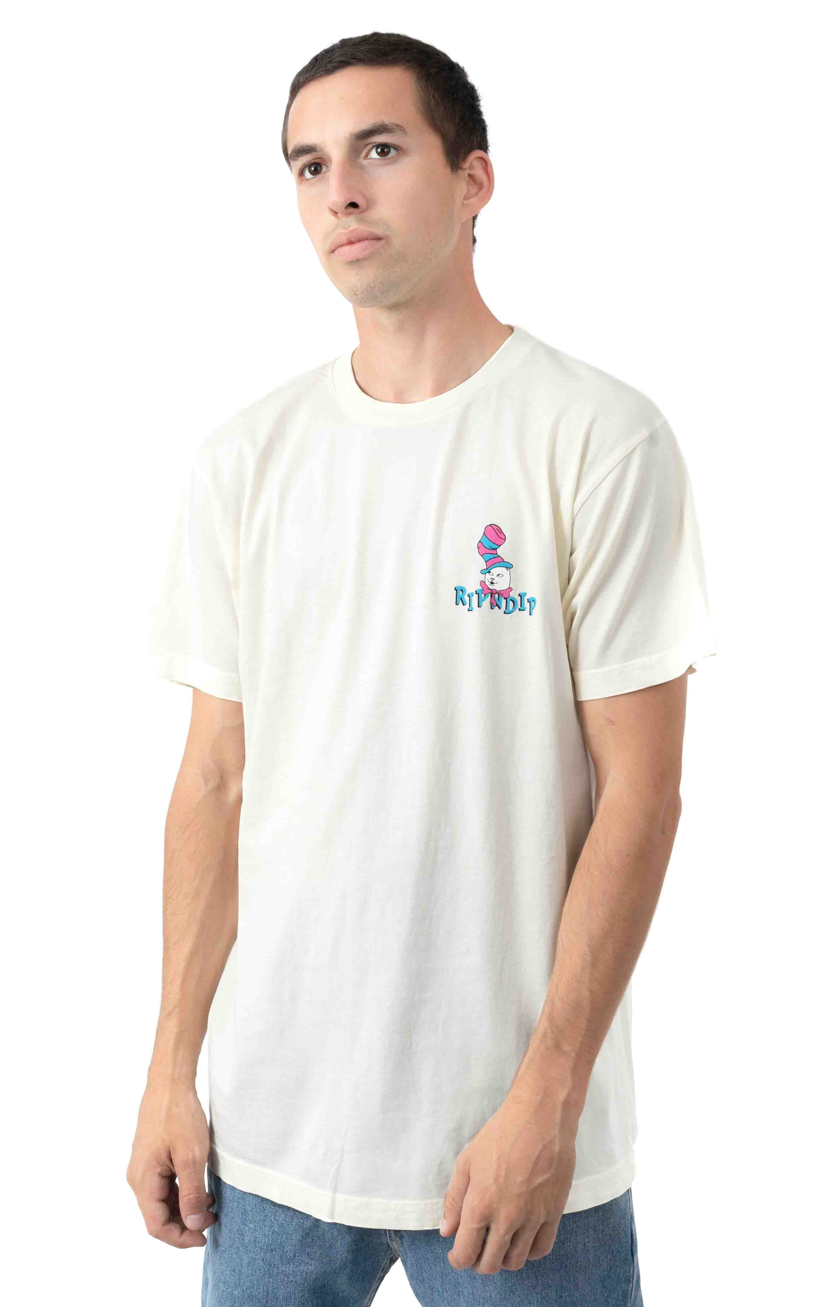 Nerm In a Hat T-Shirt - Natural  2