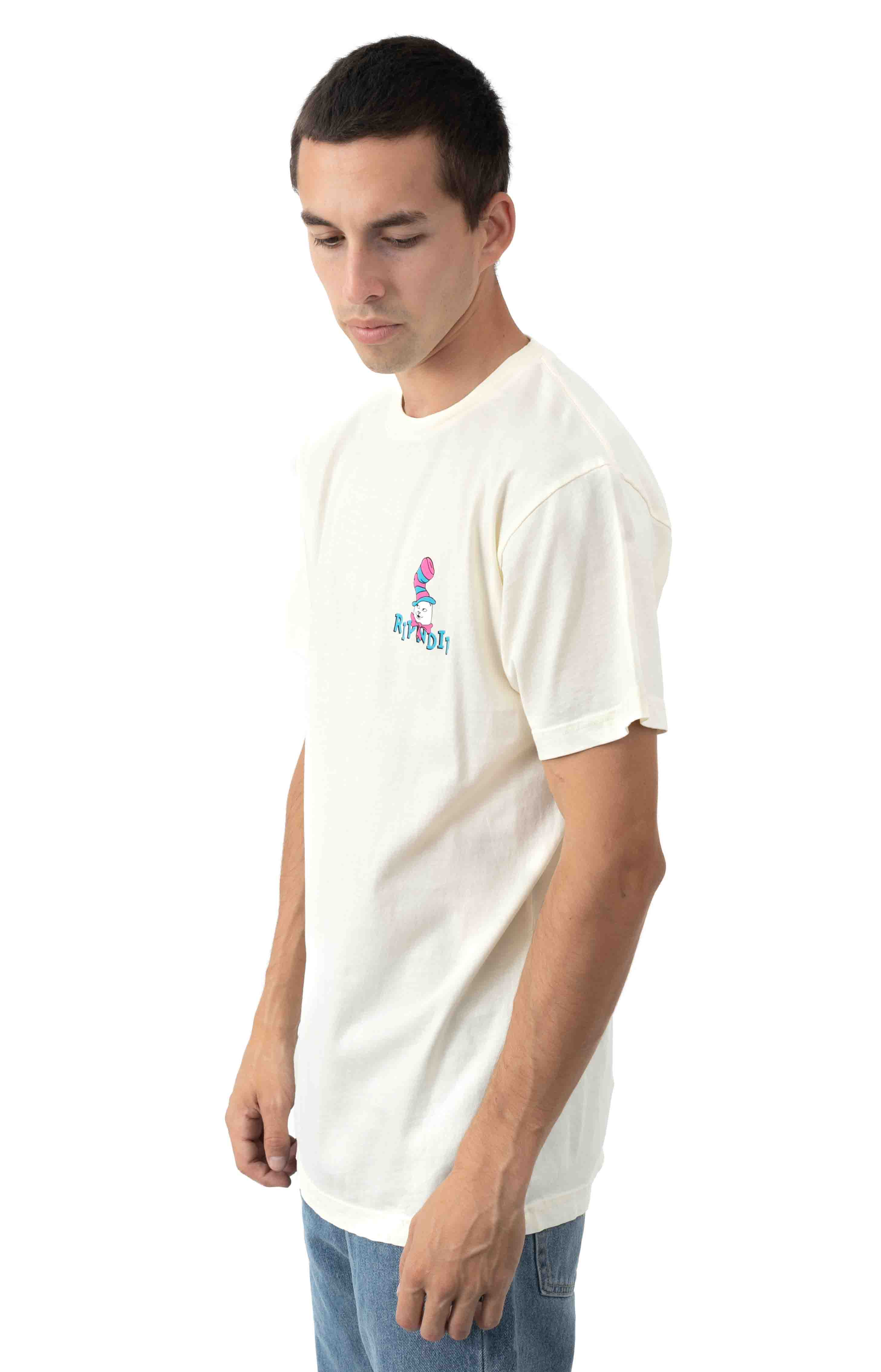Nerm In a Hat T-Shirt - Natural  3