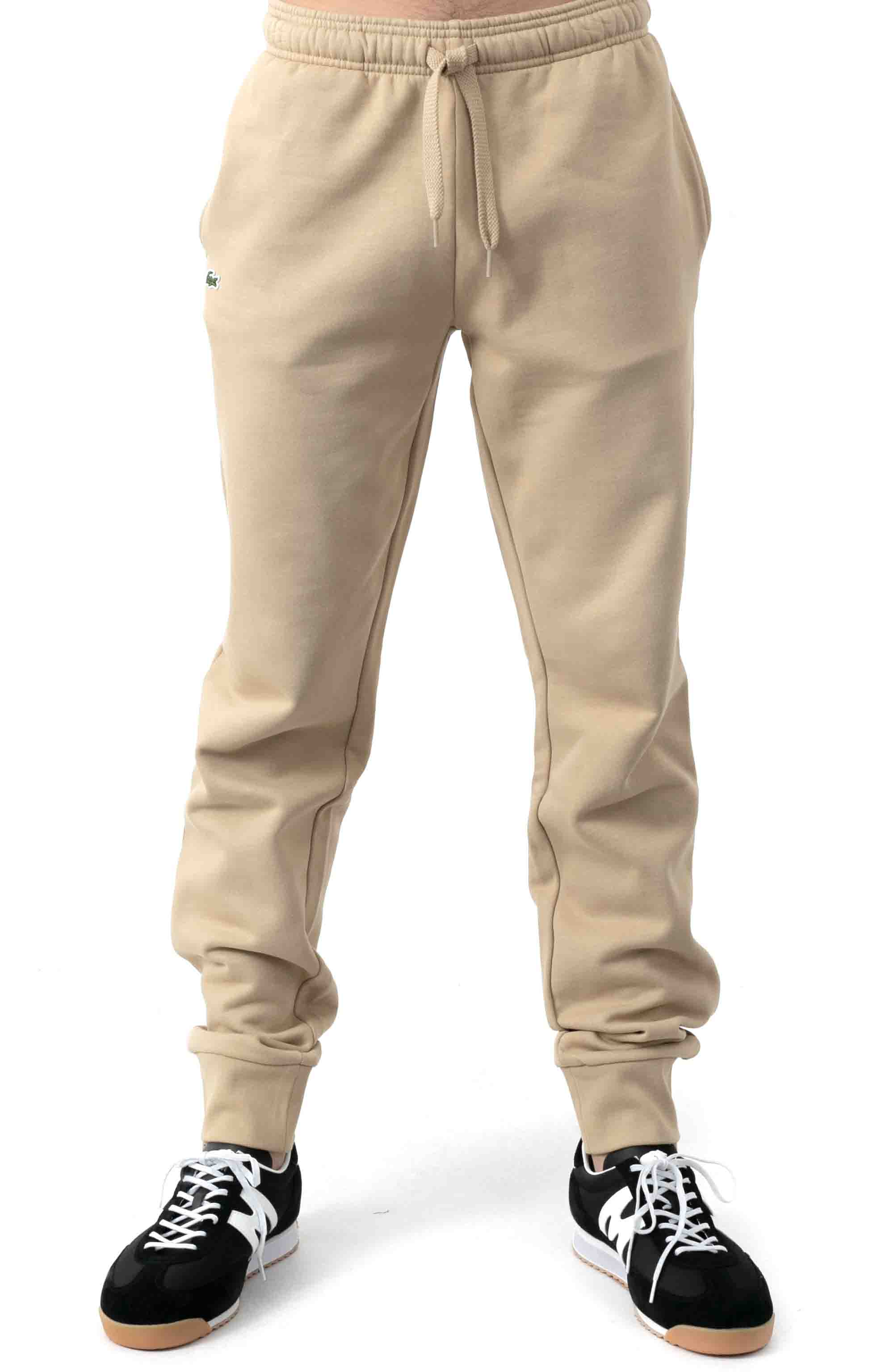 SPORT Fleece Jogging Pants - Beige  2