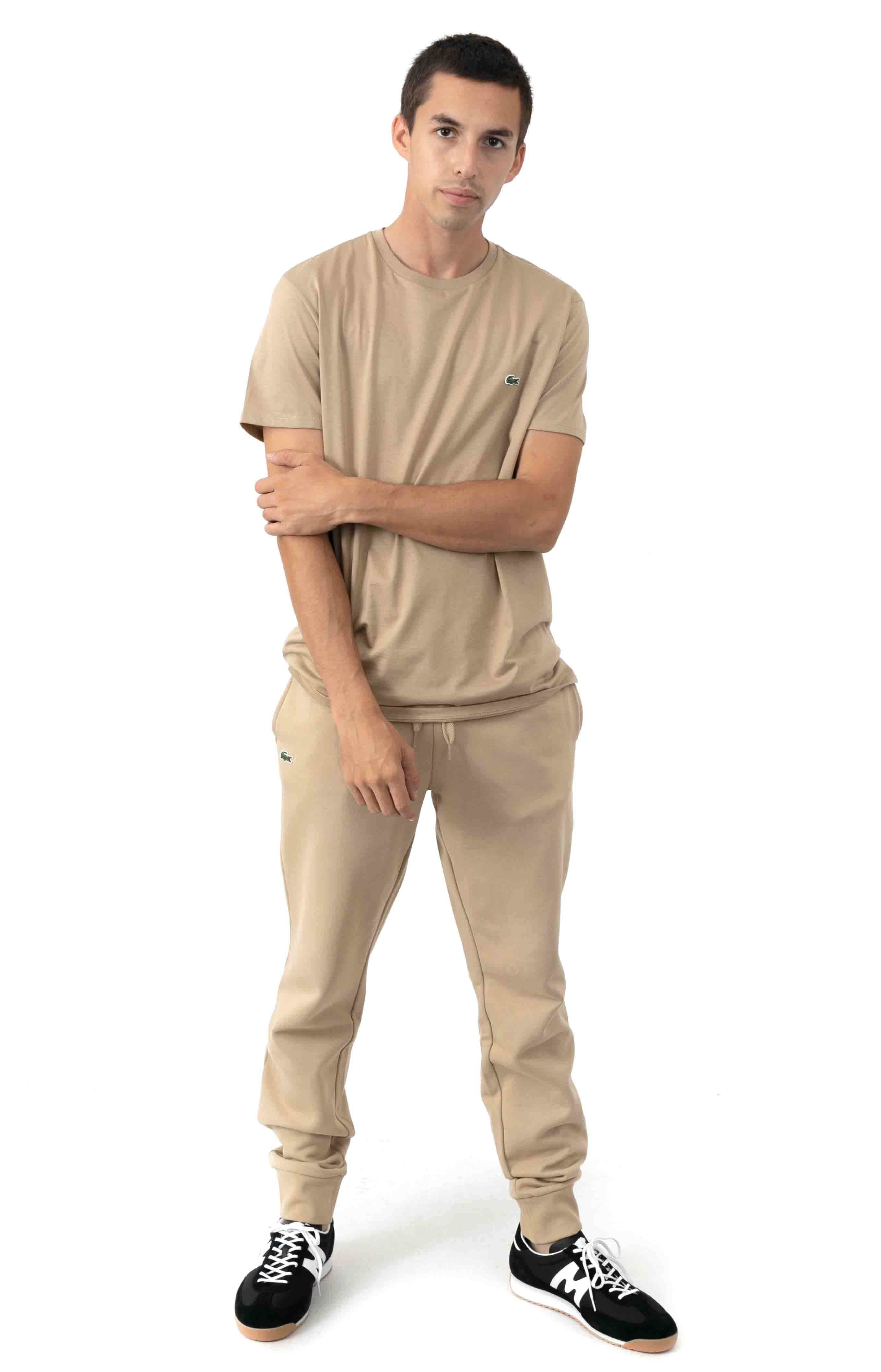 SPORT Fleece Jogging Pants - Beige  4