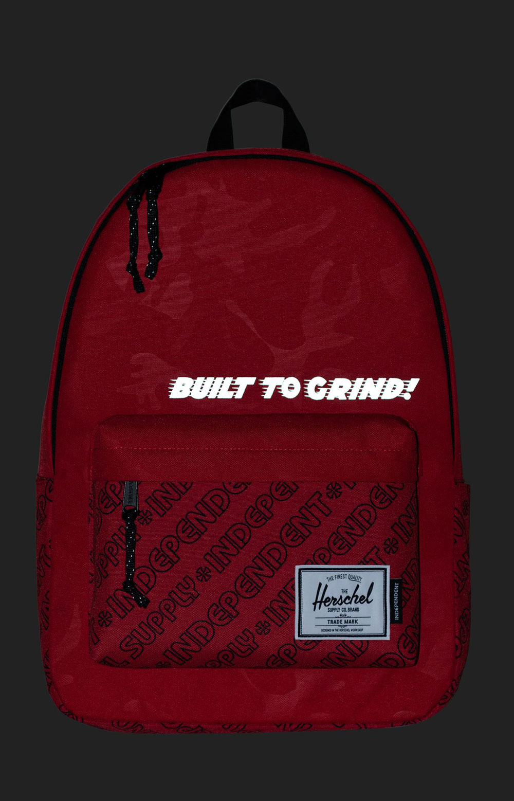 Classic Backpack XL - Red Camo/Independent Unified Red 2