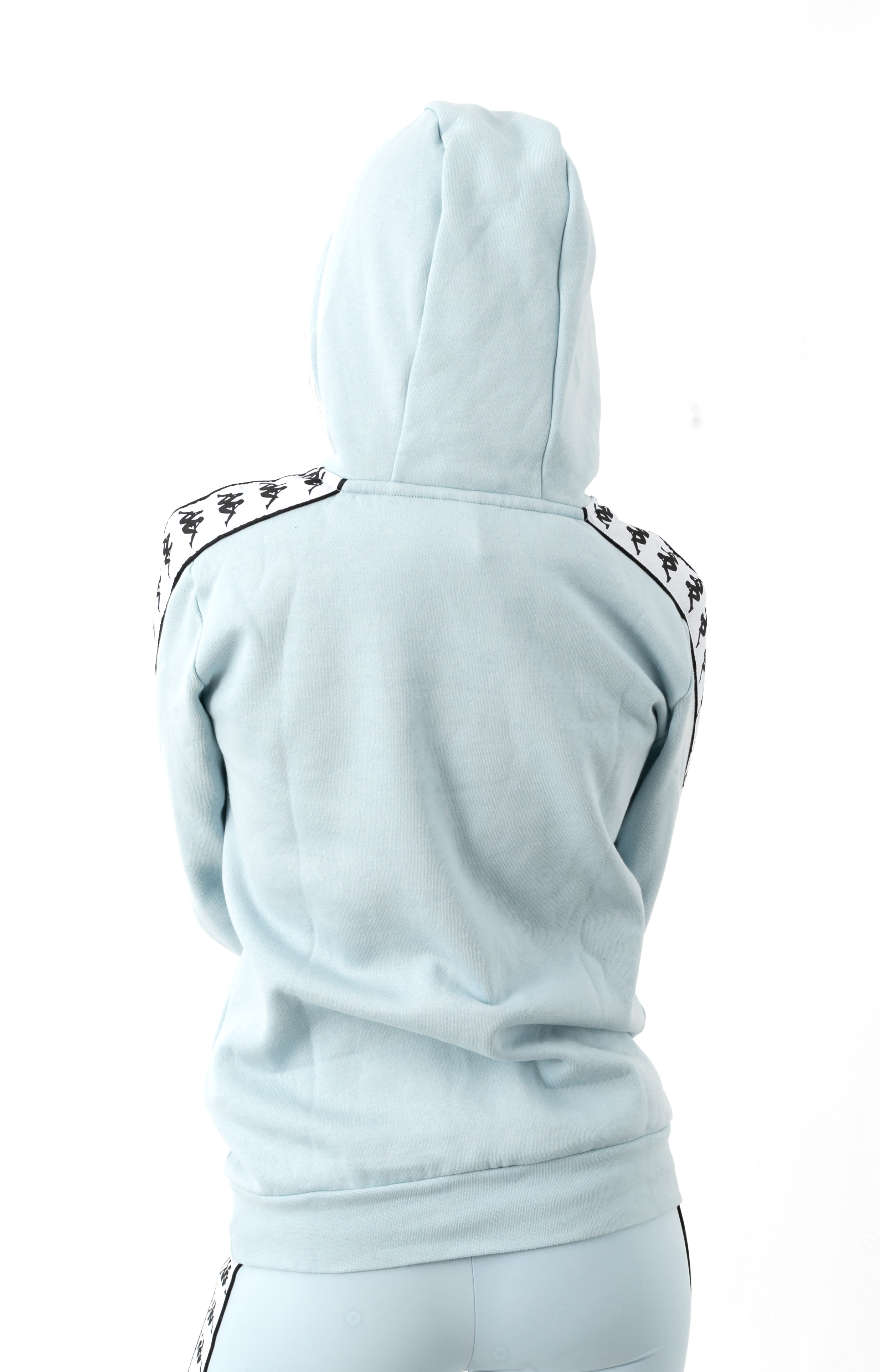 222 Banda Budy 2 Pullover Hoodie - Baby Blue/White  3