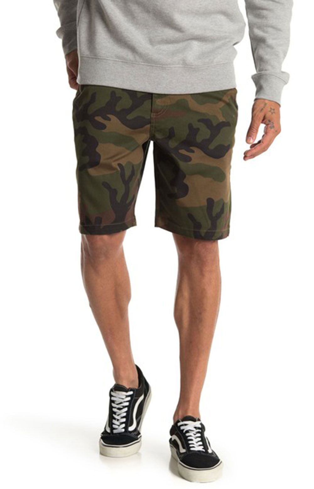 Authentic Stretch Shorts - Camo