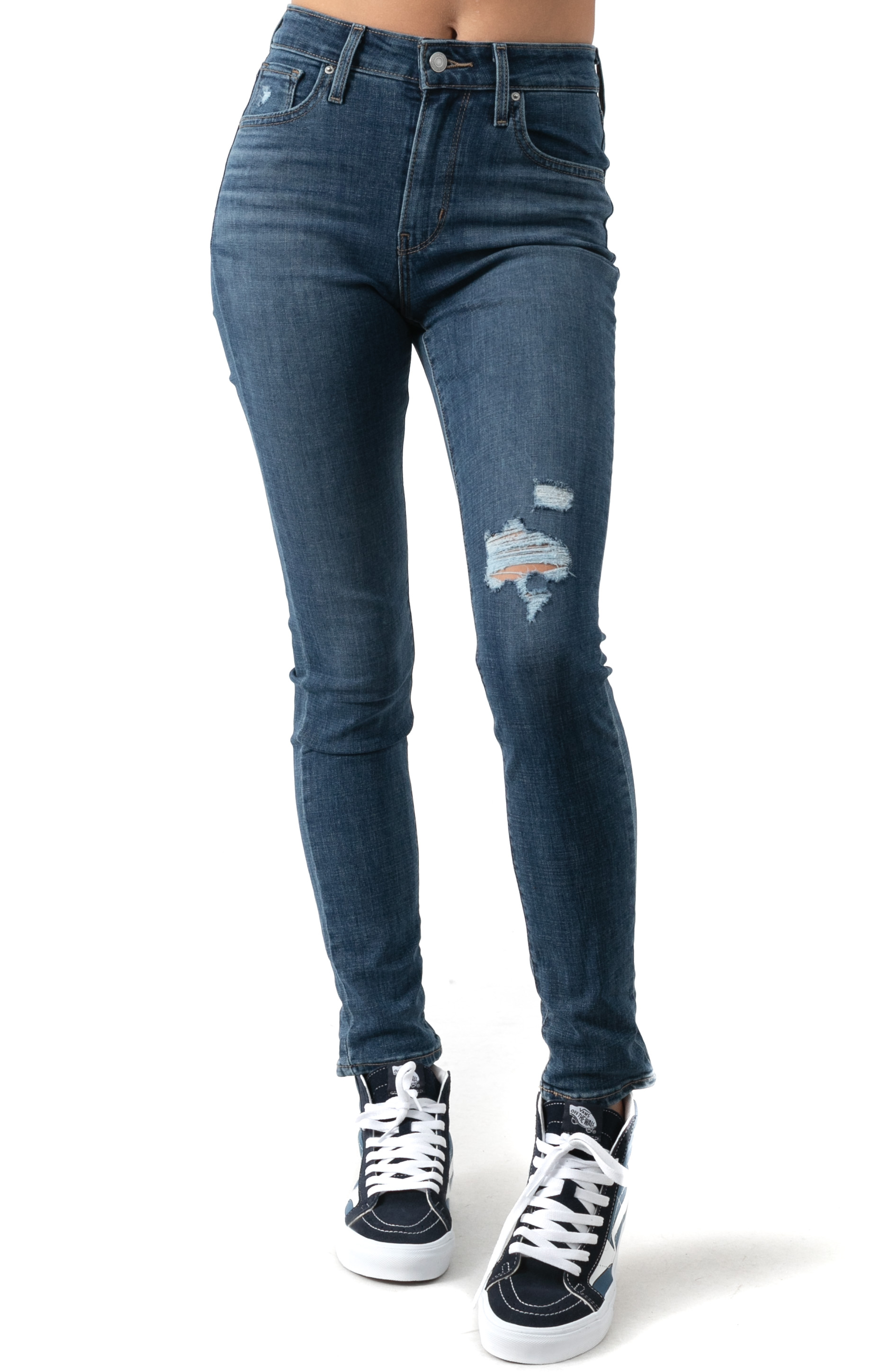 721 High Rise Skinny Jeans - Lapis Blue