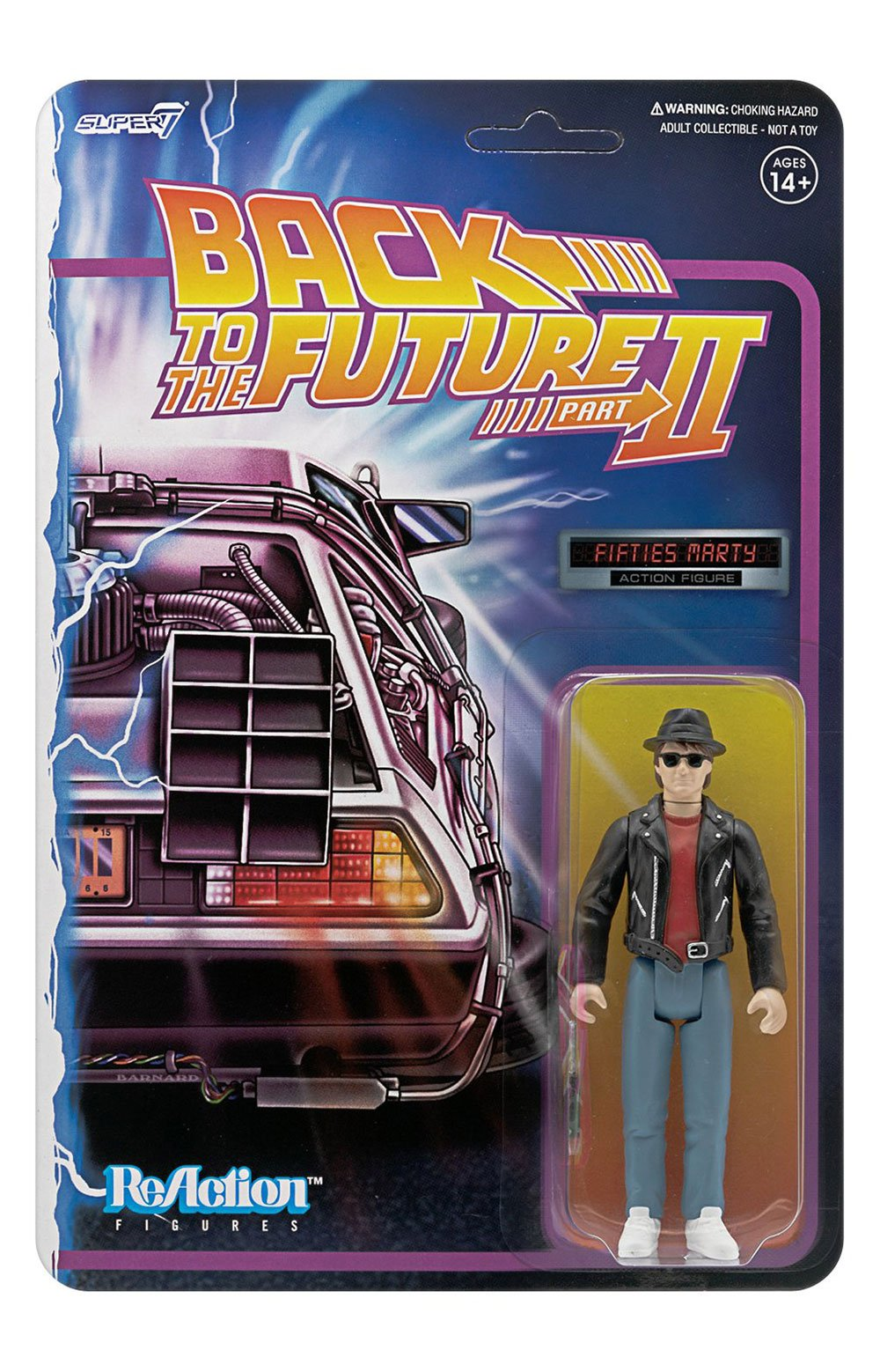 Back To The Future 2 ReAction Figure - Marty McFly 1950s 2