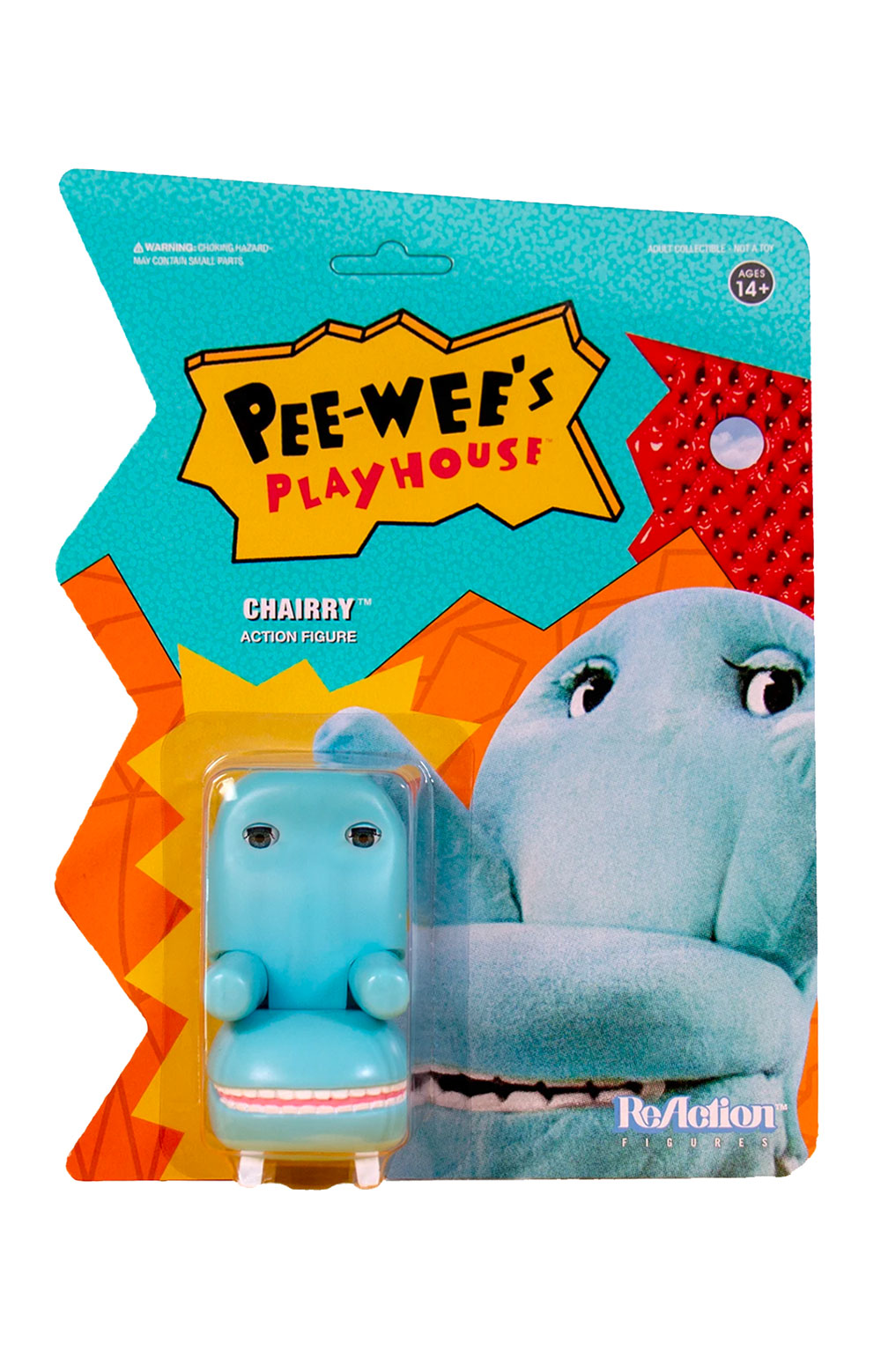 Pee-wee's Playhouse ReAction Figure - Chairry  3