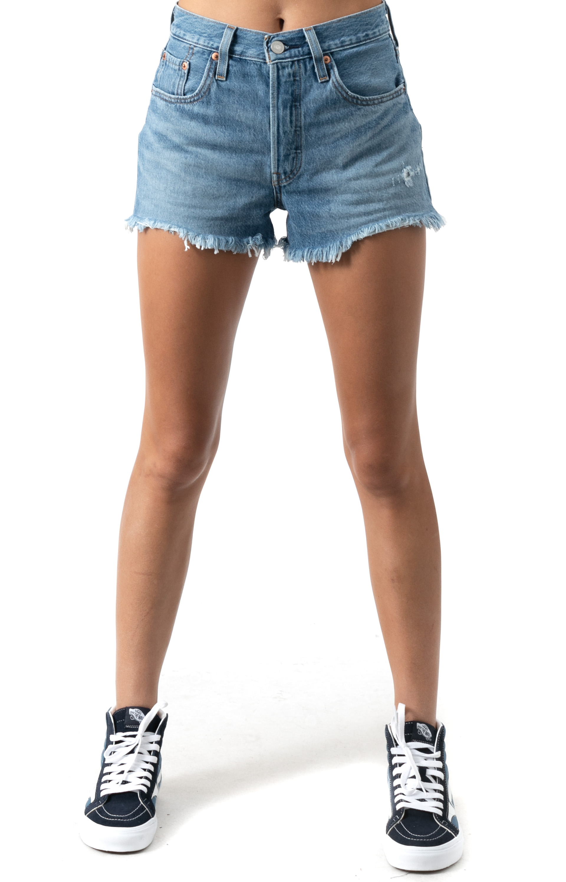 (56327-0114) 501 Original Shorts - Sansome Breeze
