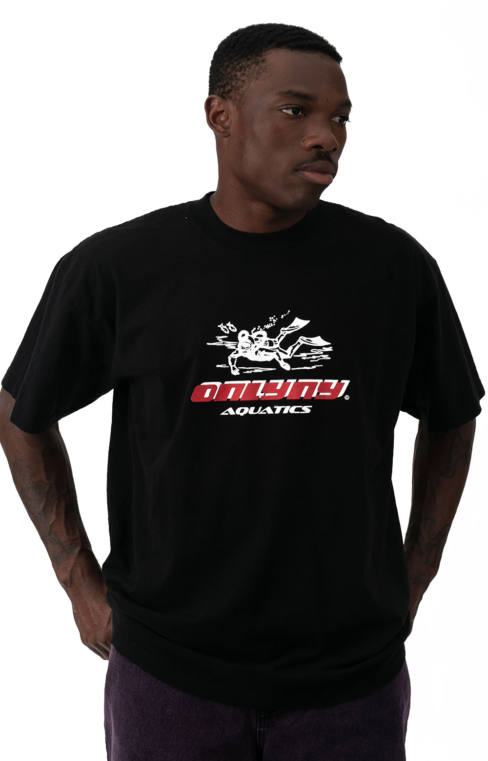 Aquatics T-Shirt - Black