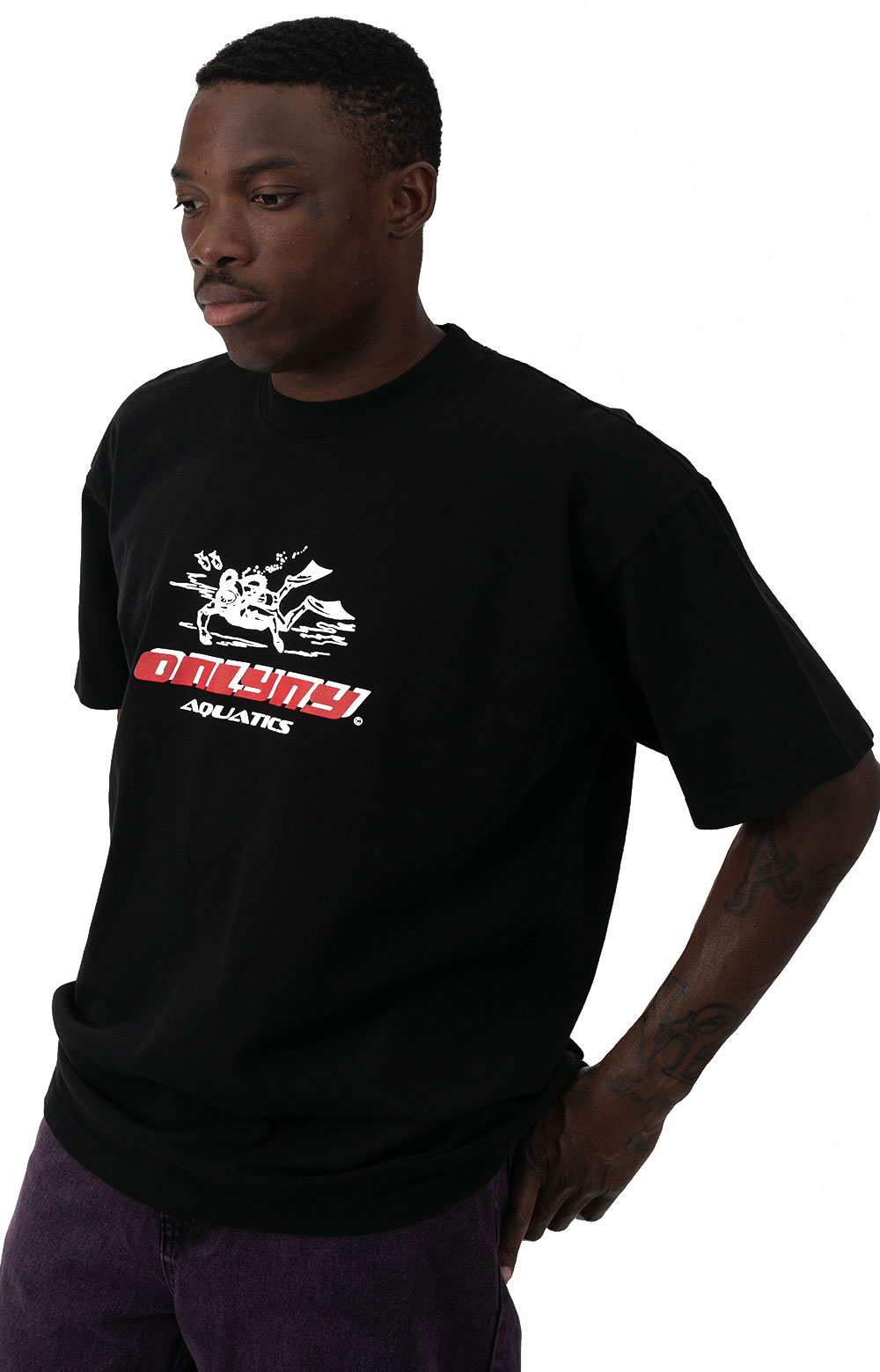 Aquatics T-Shirt - Black 2