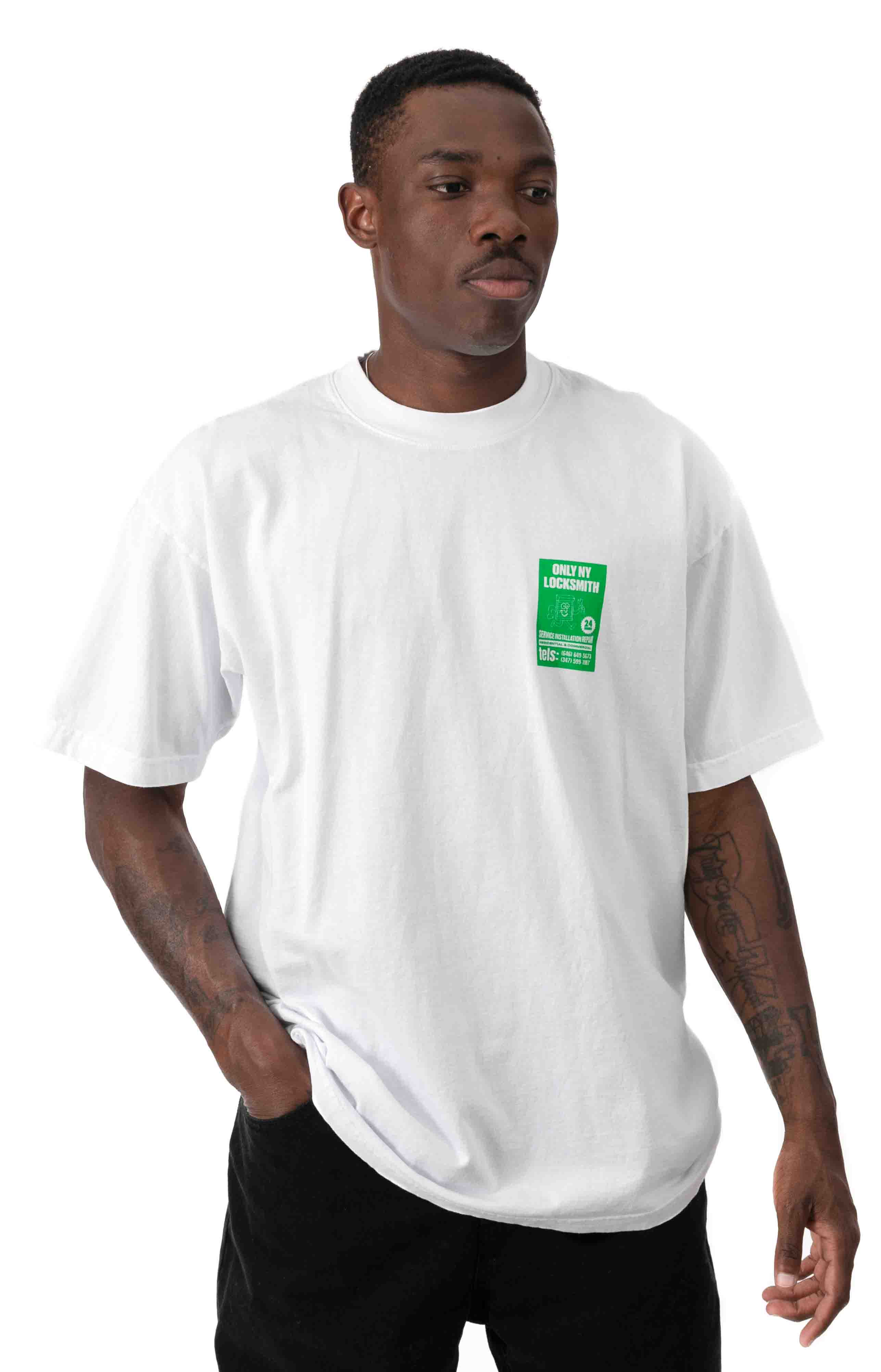 Locksmith T-Shirt - White