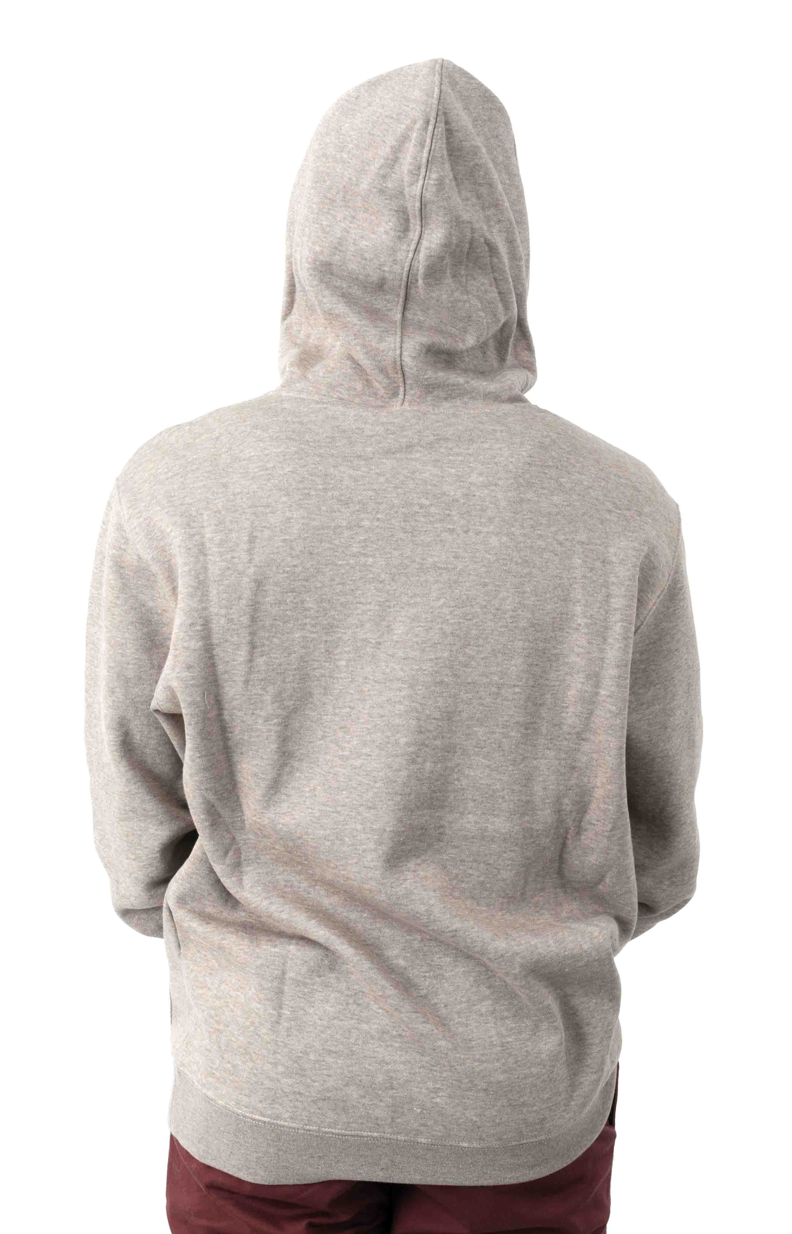 Big RVCA Pullover Hoodie - Khaki Heather  3