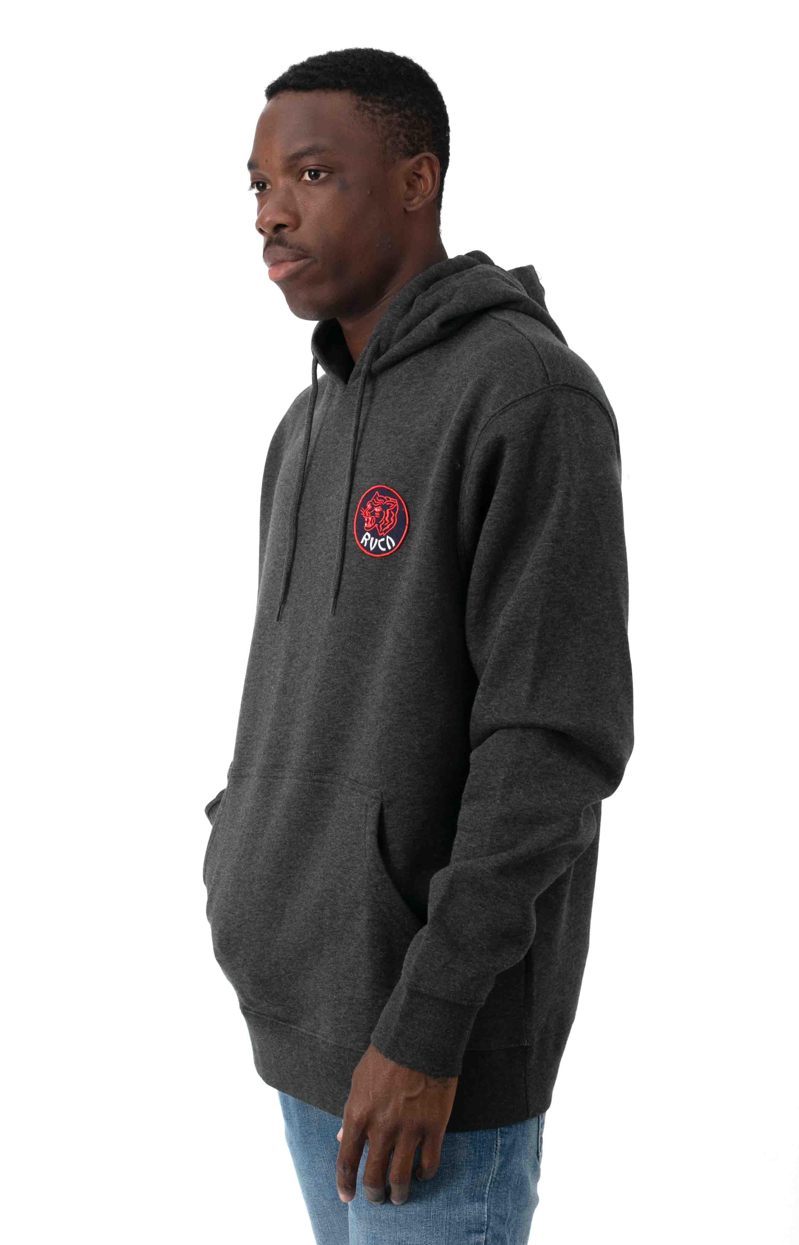 Dynasty Pullover Hoodie - Charcoal Heather  2