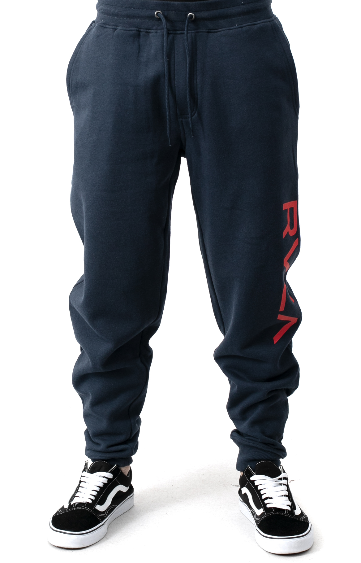 Big RVCA Sweatpants - Moody Blue  2