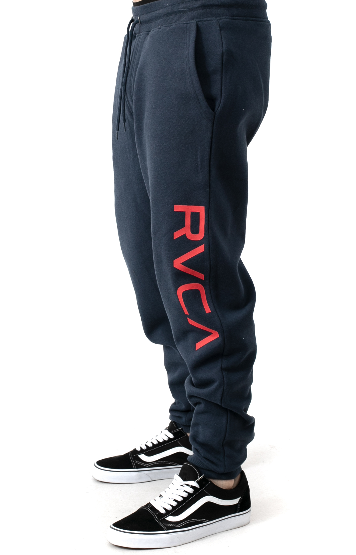 Big RVCA Sweatpants - Moody Blue