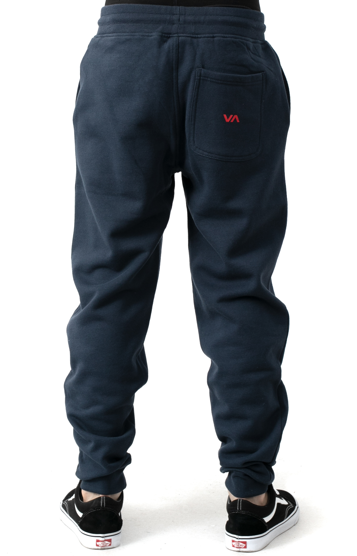 Big RVCA Sweatpants - Moody Blue  3