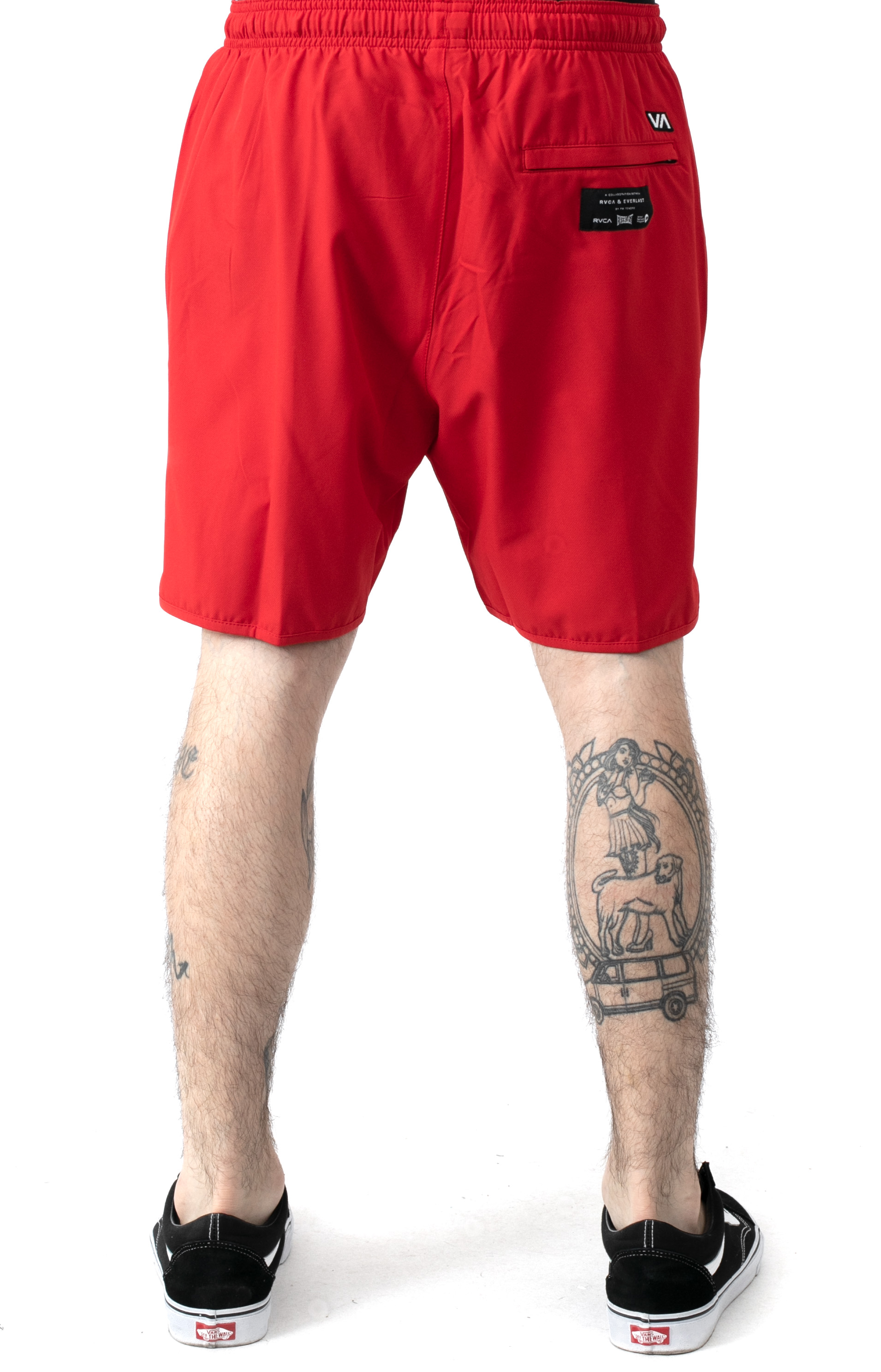 Yogger Short - Red  3