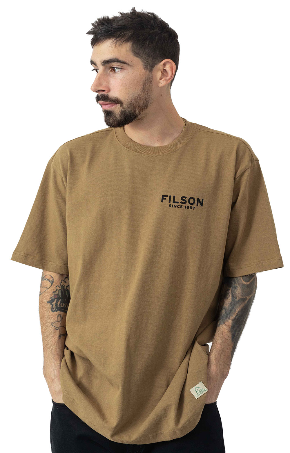 S/S Outfitter Graphic T-Shirt - Rugged Tan  2
