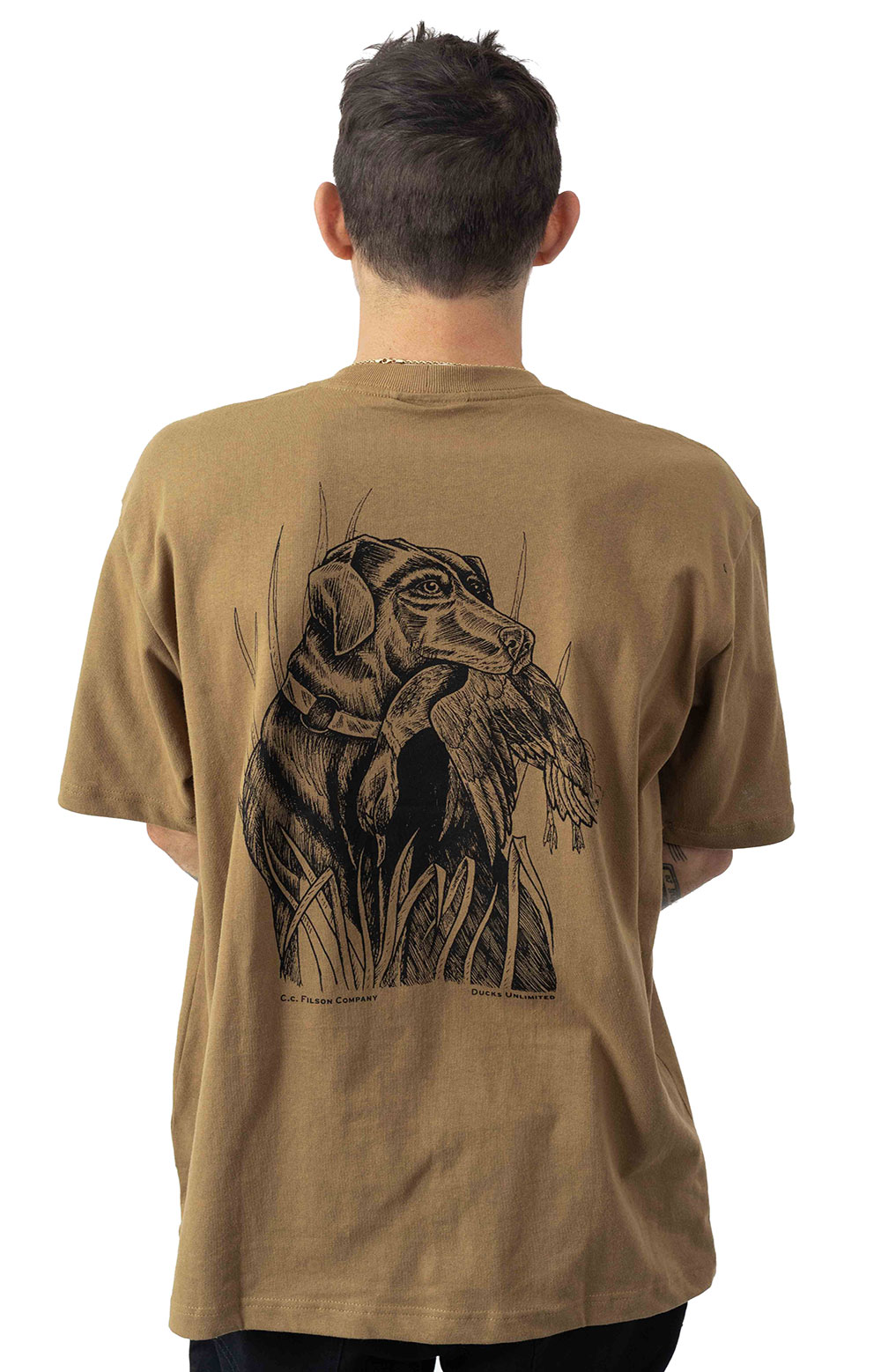 S/S Outfitter Graphic T-Shirt - Rugged Tan