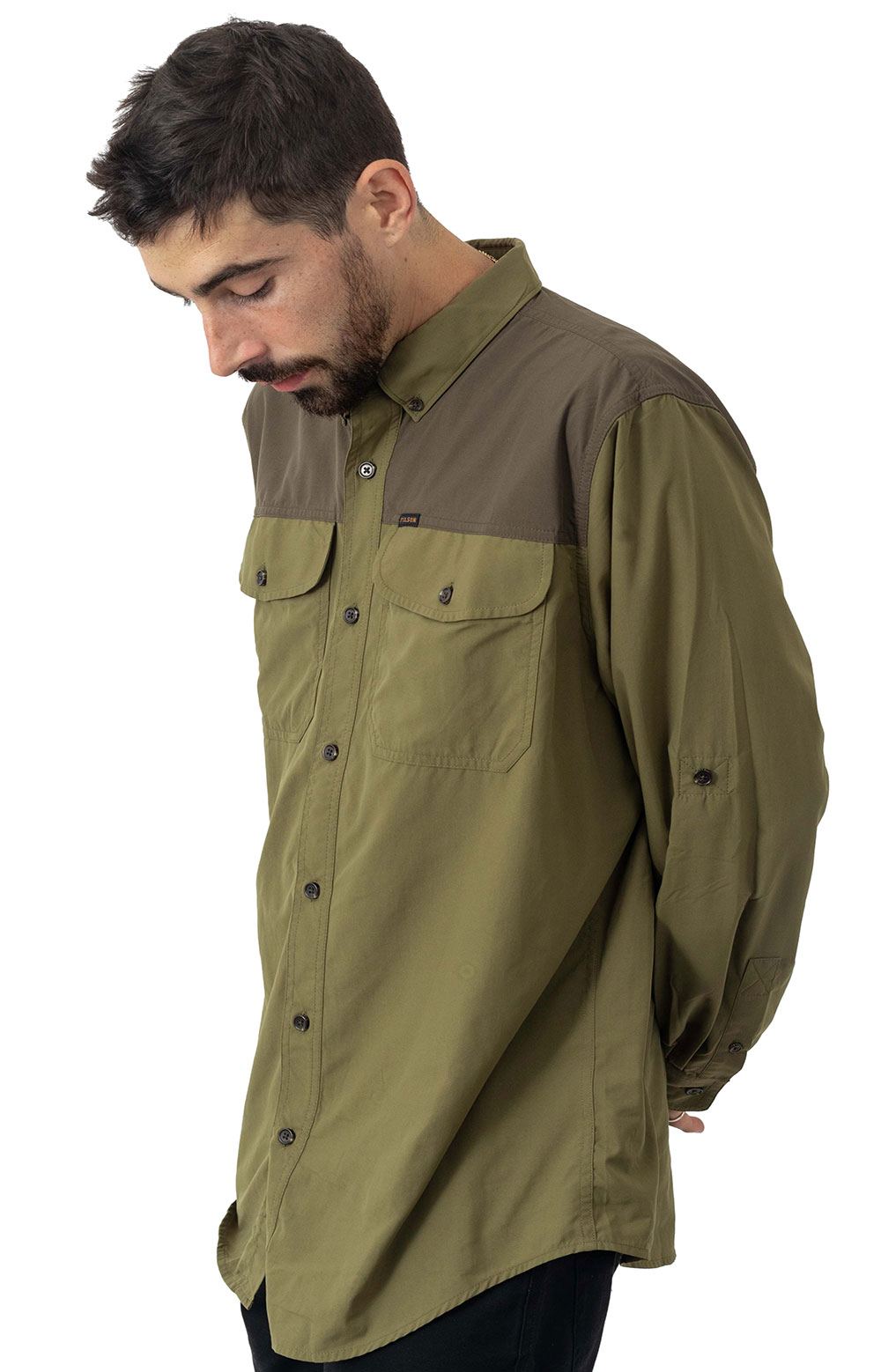 Sportsman's Button-Up Shirt - Olived Drab