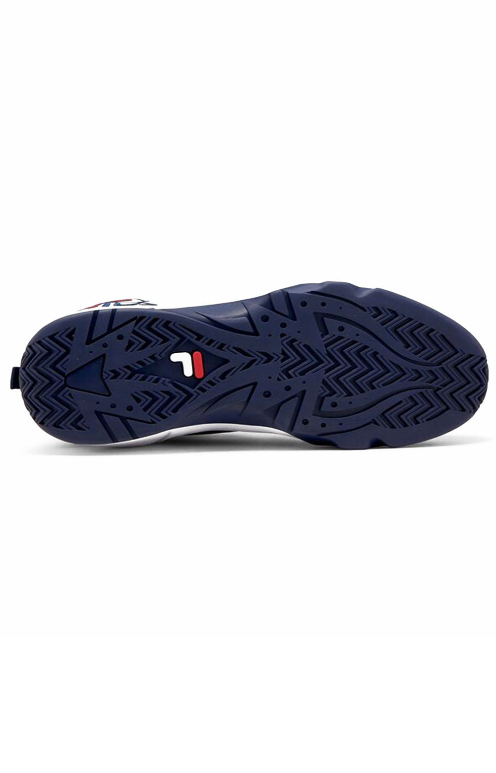 Grant Hill 1 Offset Shoes - White/Navy/Red  3