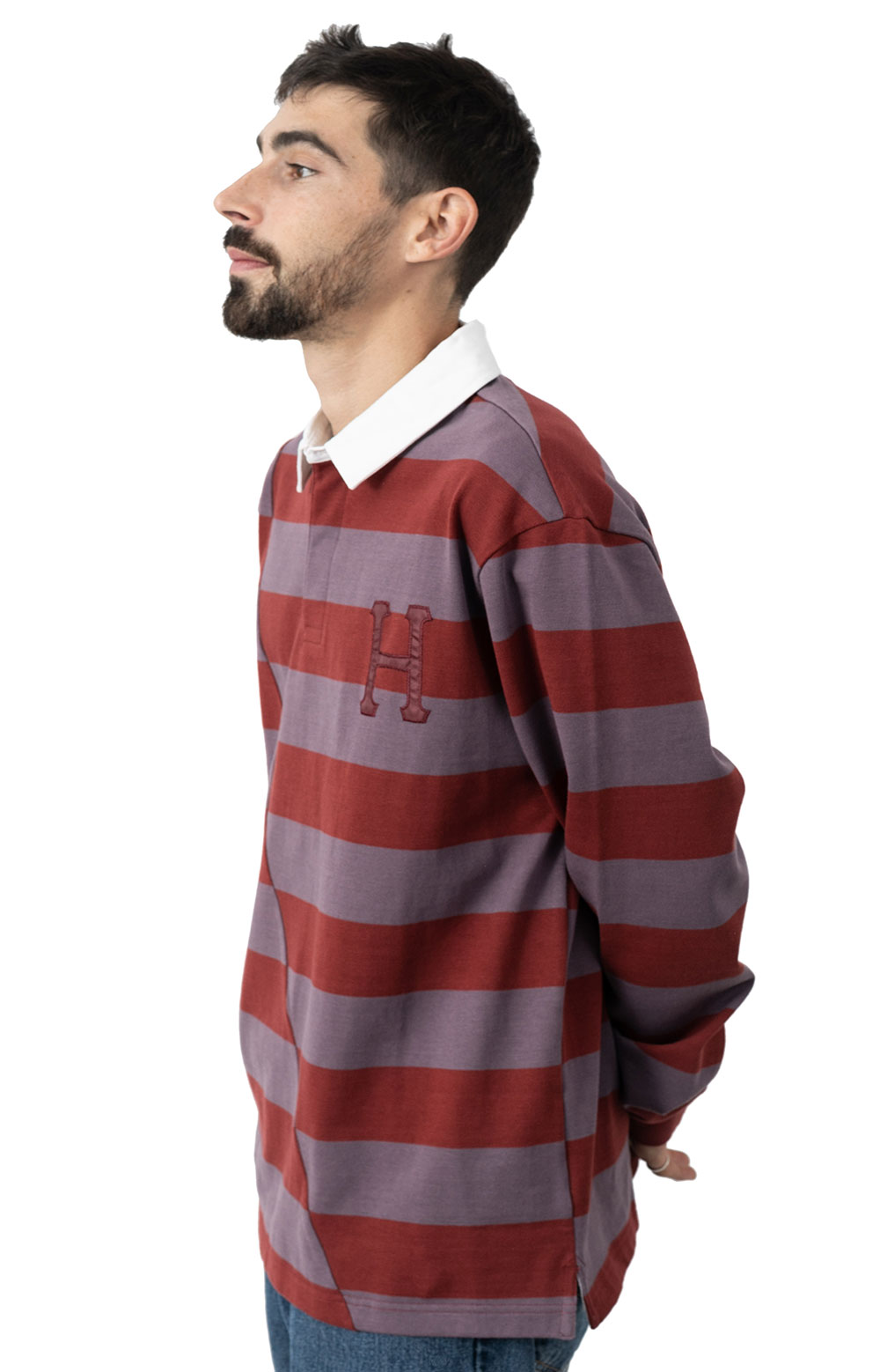 Yorke L/S Rugby - Brick  2
