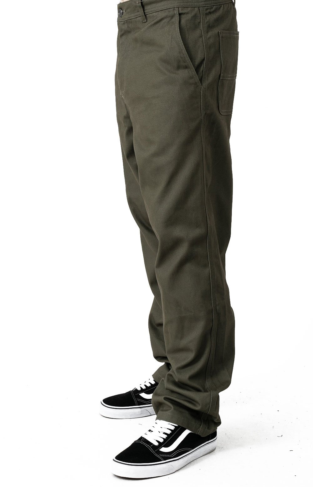 Boyd Pant - Olive  2