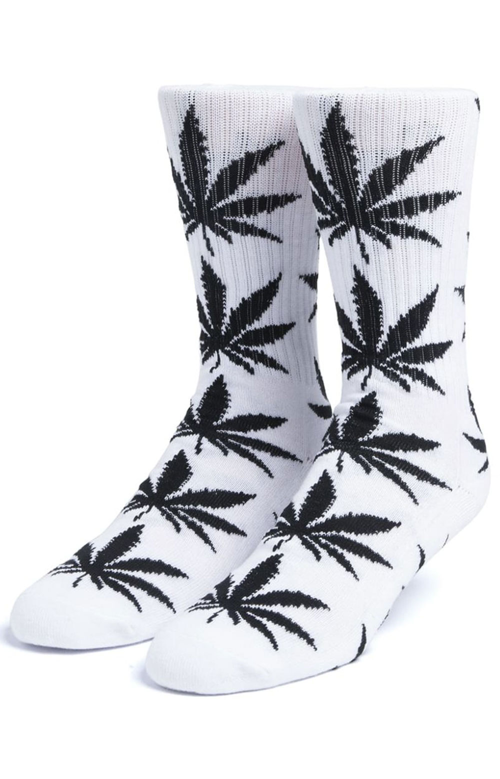 Essentials Plantlife Sock 3 Pack - Black/White/Huf Green  2