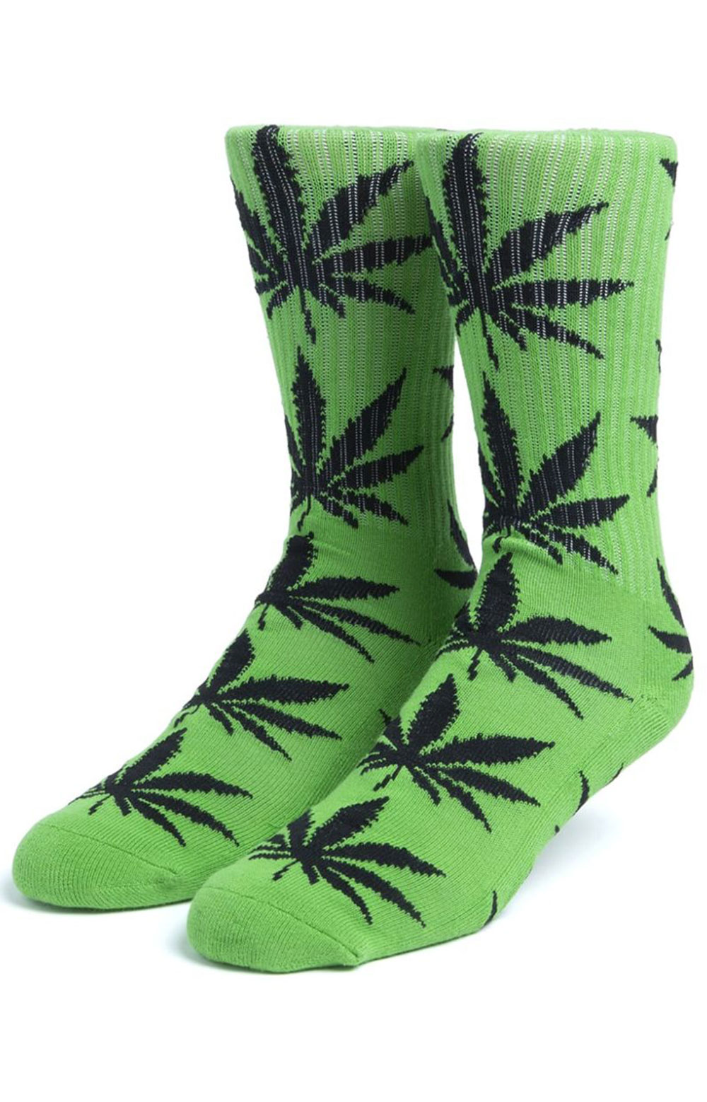 Essentials Plantlife Sock 3 Pack - Black/White/Huf Green  3