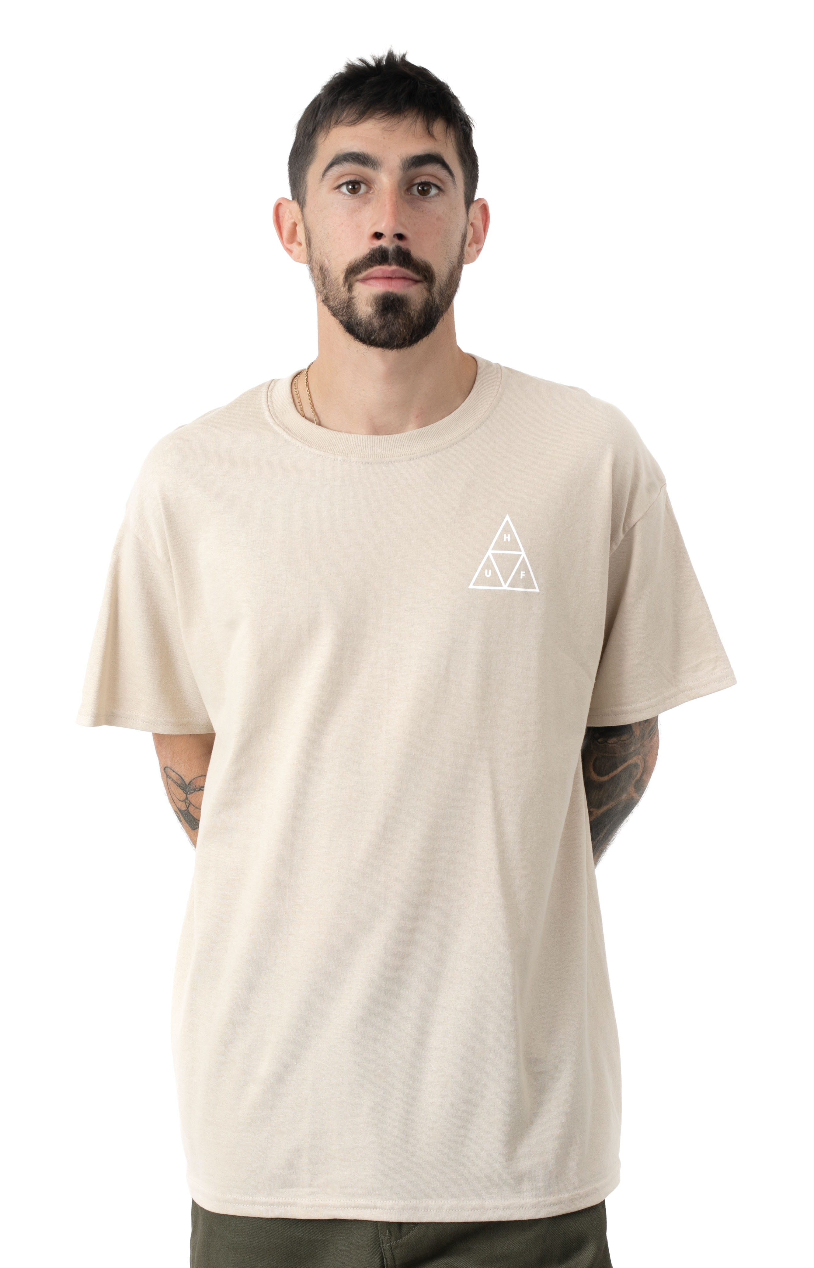 Essentials TT T-Shirt - Camel