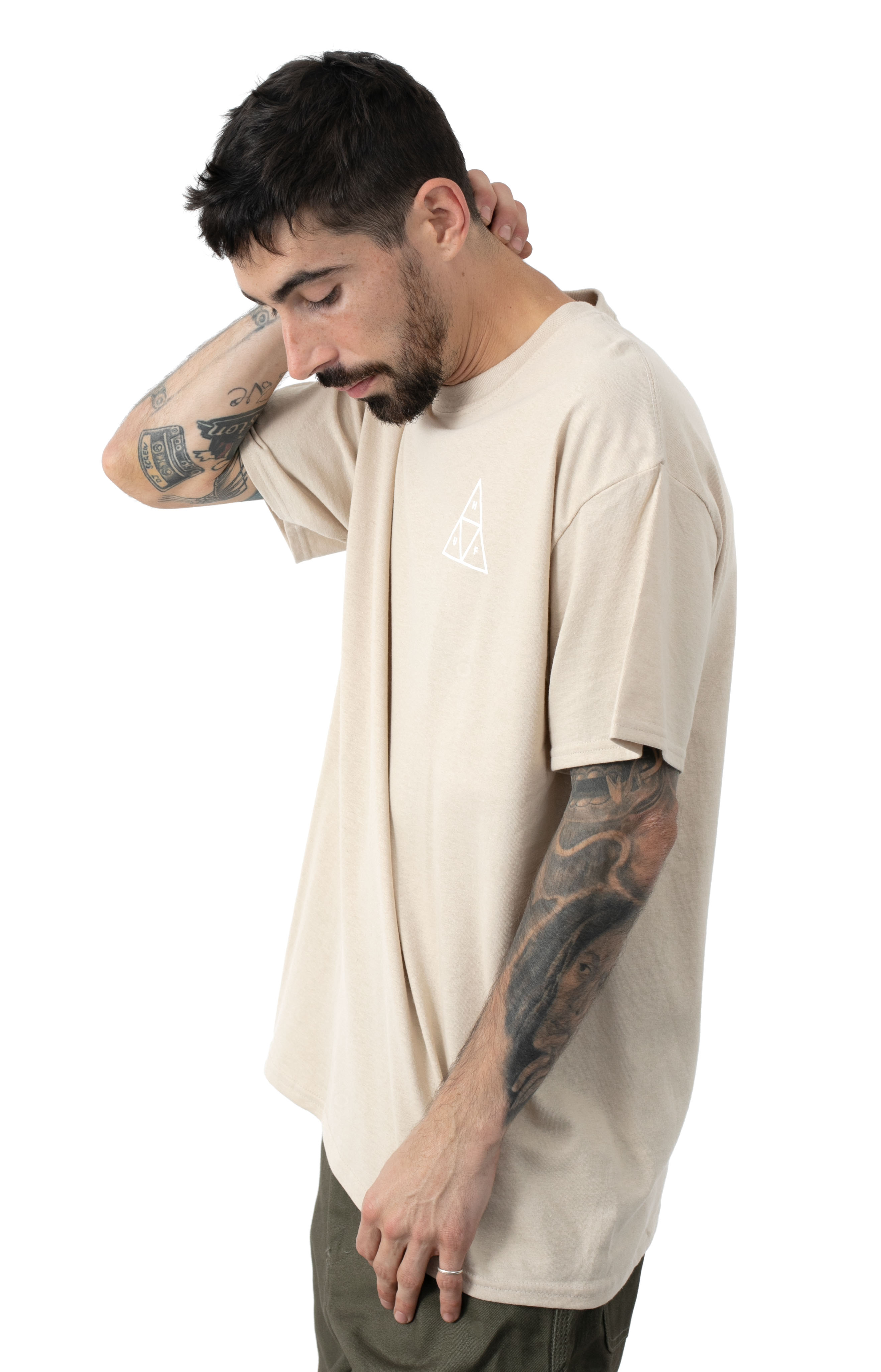 Essentials TT T-Shirt - Camel  2